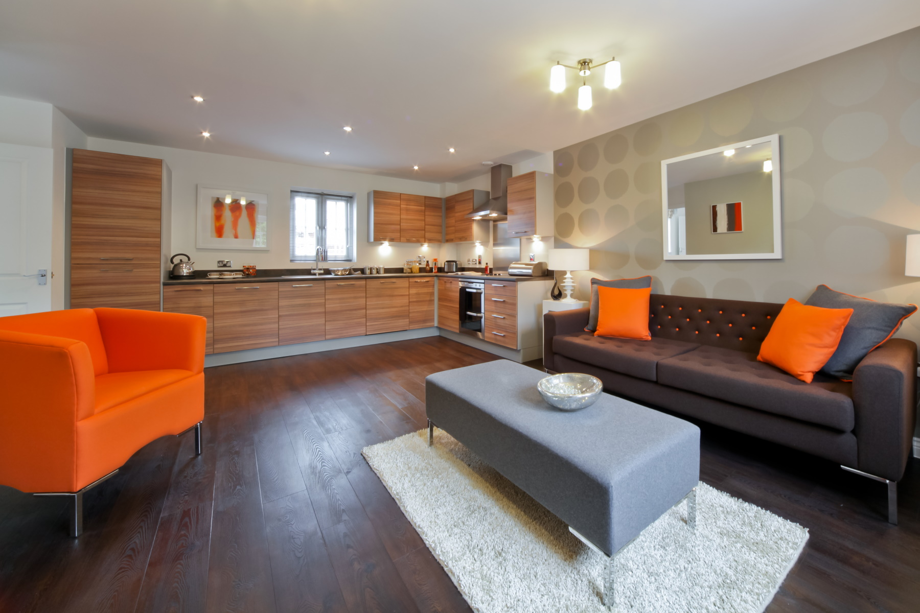 TW Exeter - Mountbatten Mews - Oaklea House example living room 3