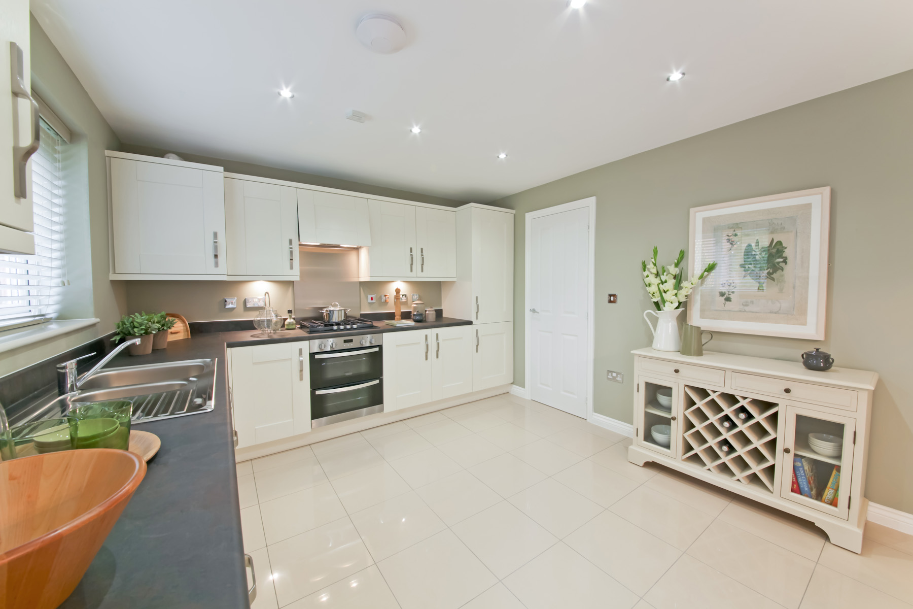 TW Exeter - Plumb Park - Colyford example kitchen