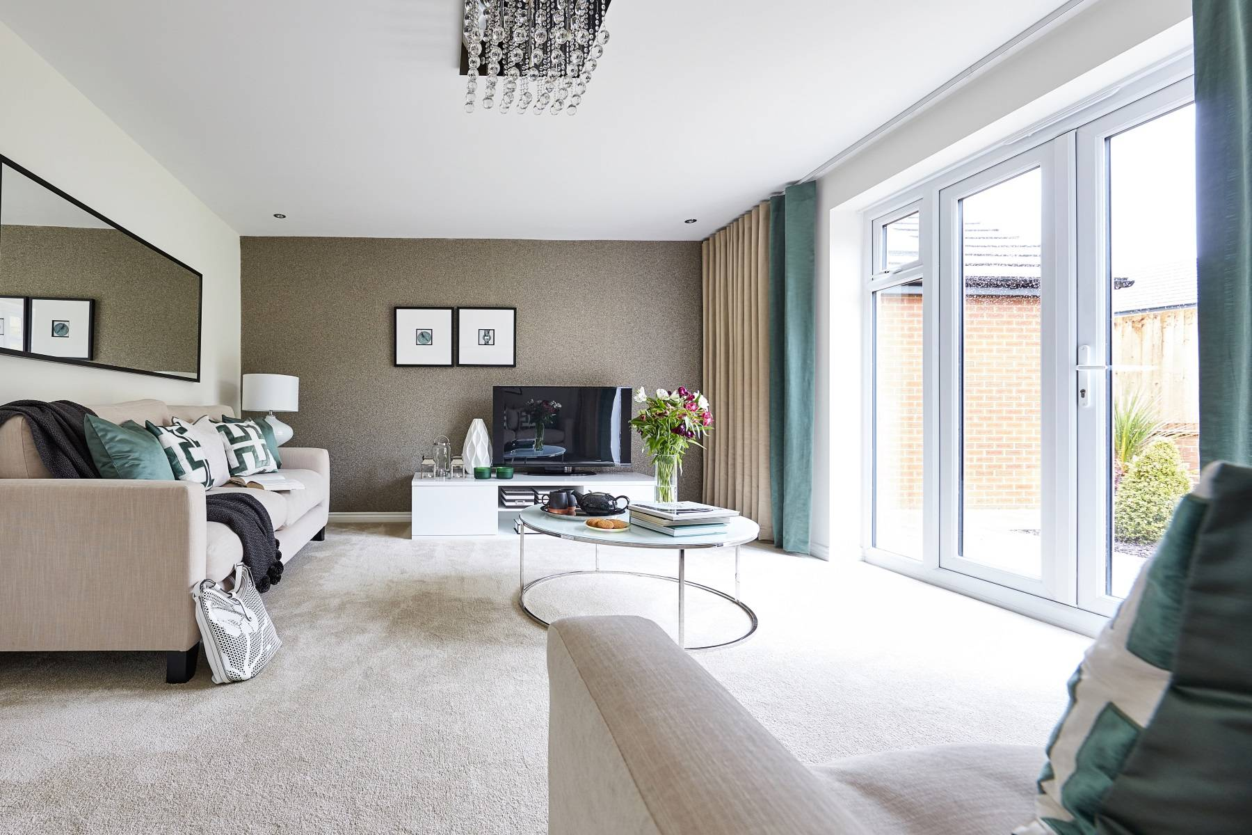 TW Exeter - Plumb Park - Dorchester example living room