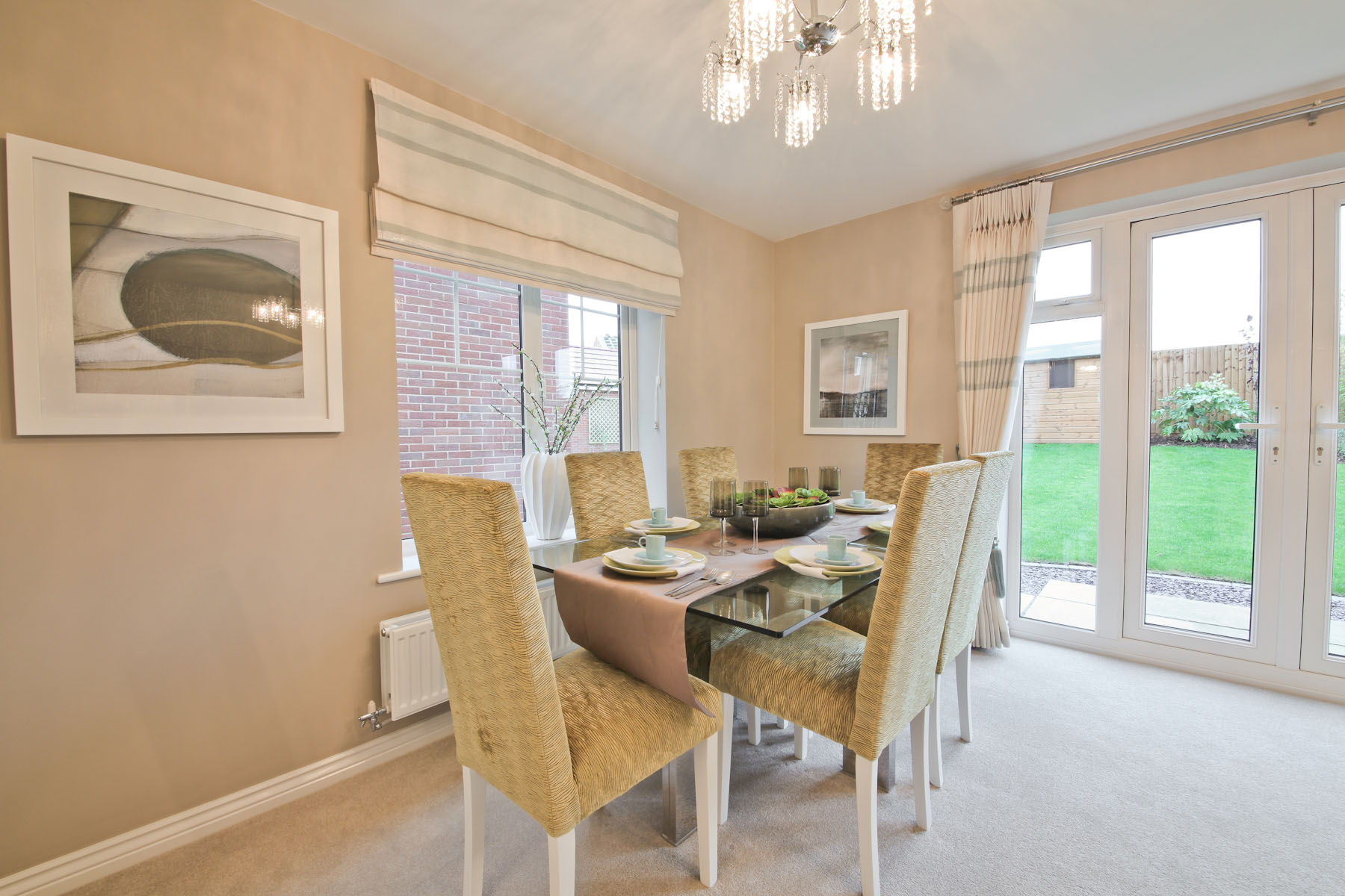 TW Exeter - Plumb Park - Portland example dining area