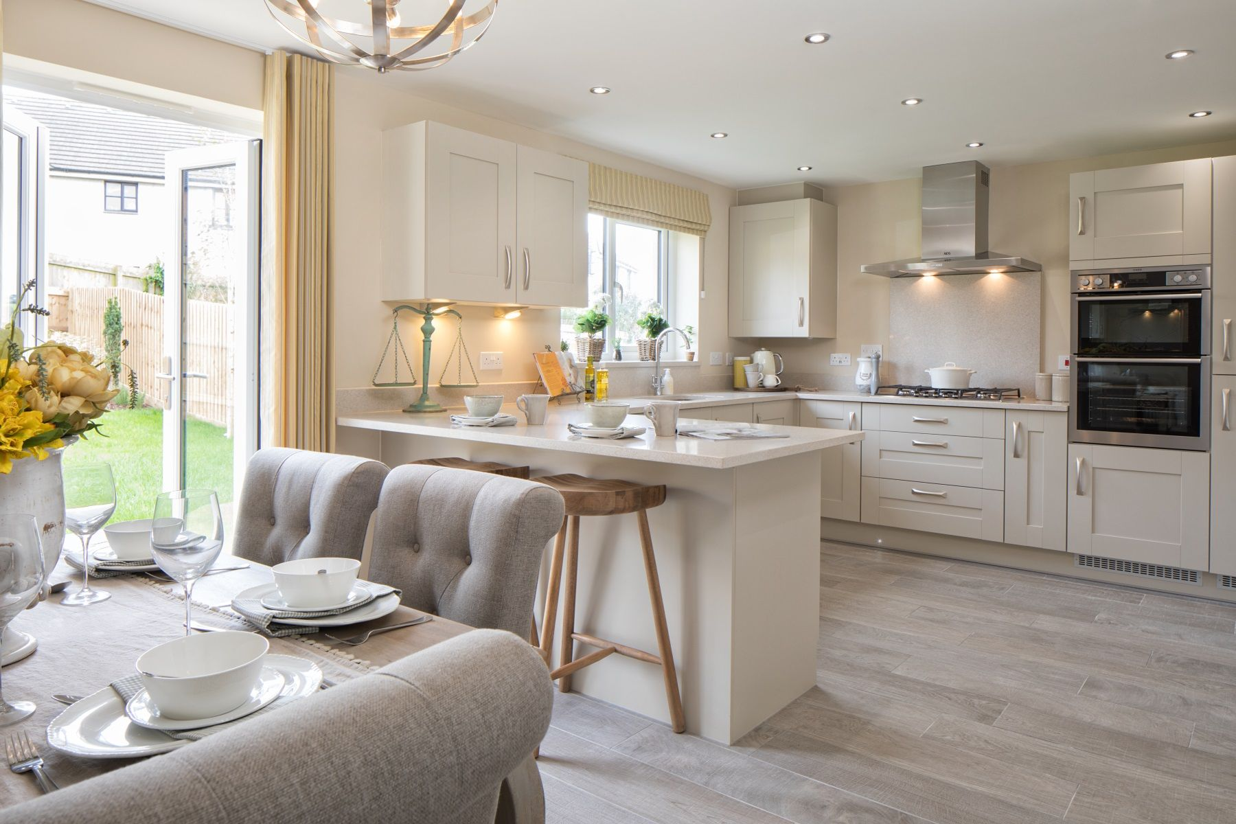 TW Exeter - Plumb Park - Midford example kitchen
