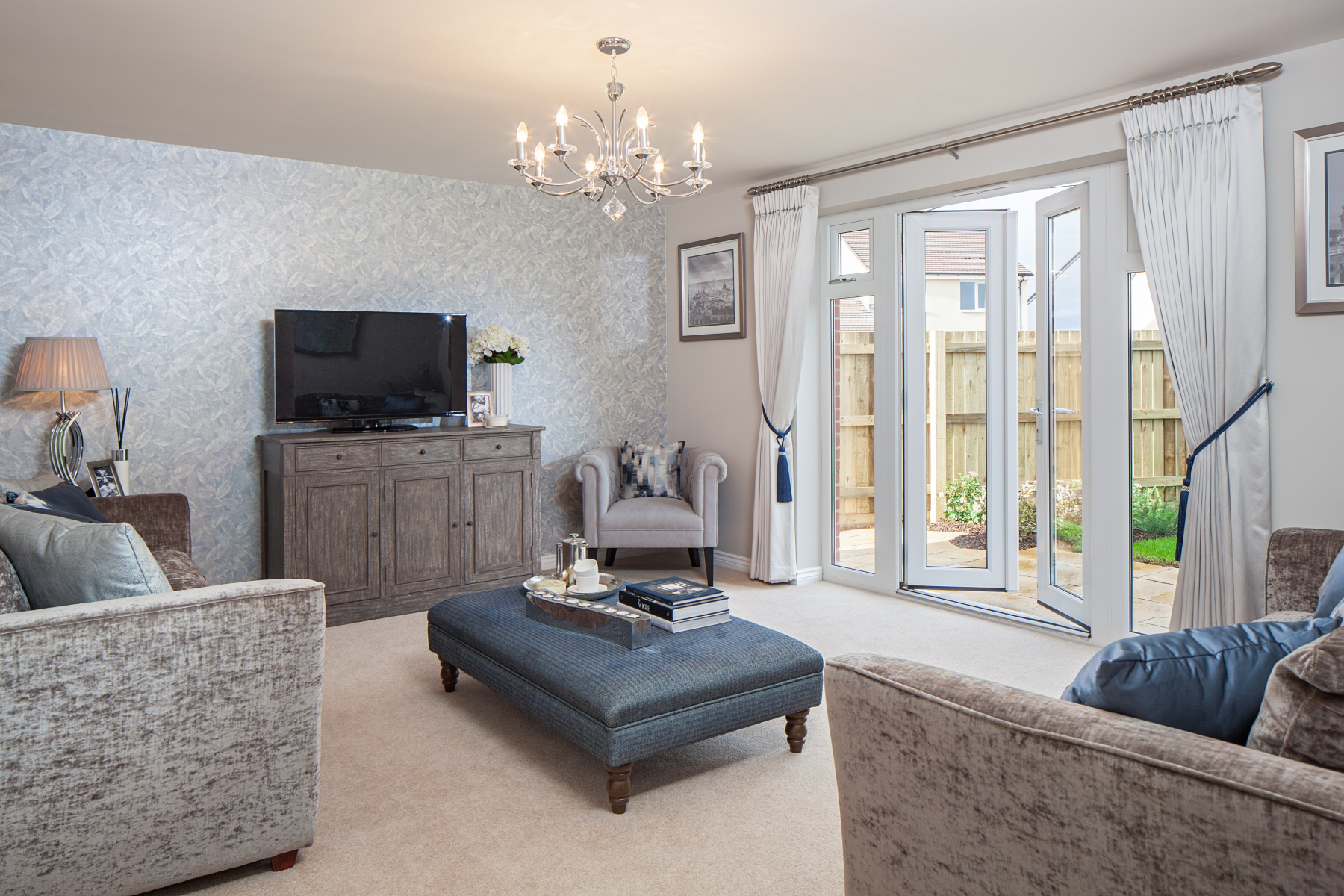 TW Exeter - Plumb Park - Weymouth example living room
