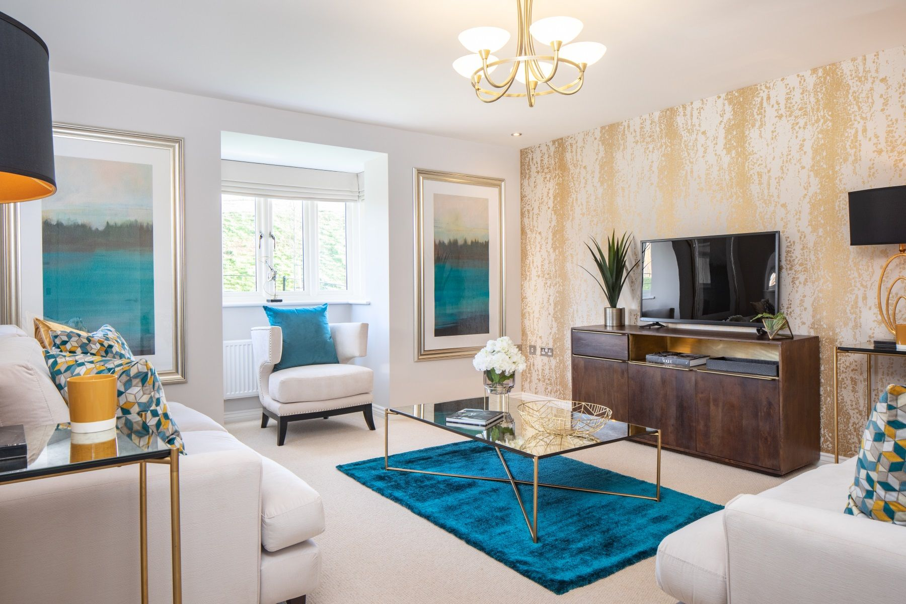 TW Exeter - Plumb Park - Colyford living room