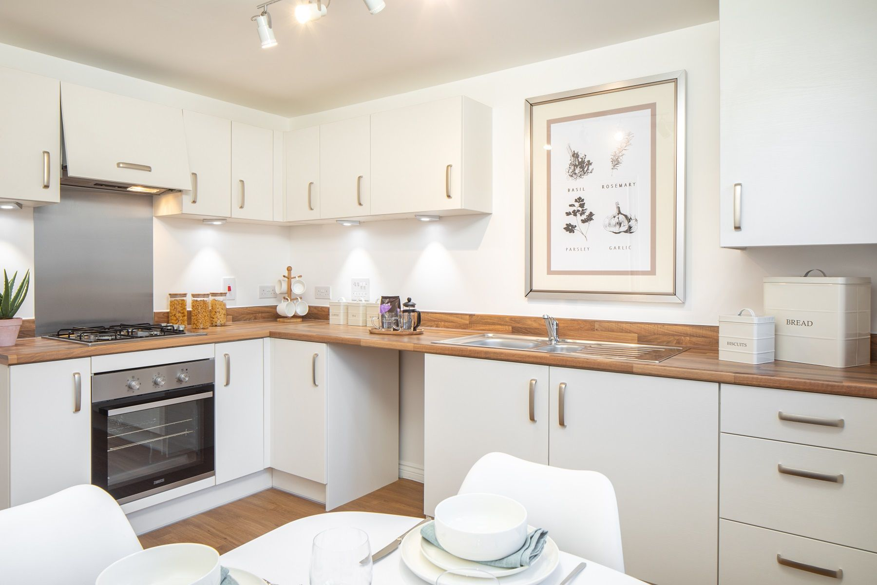 TW Exeter - Plumb Park - Seaton kitchen