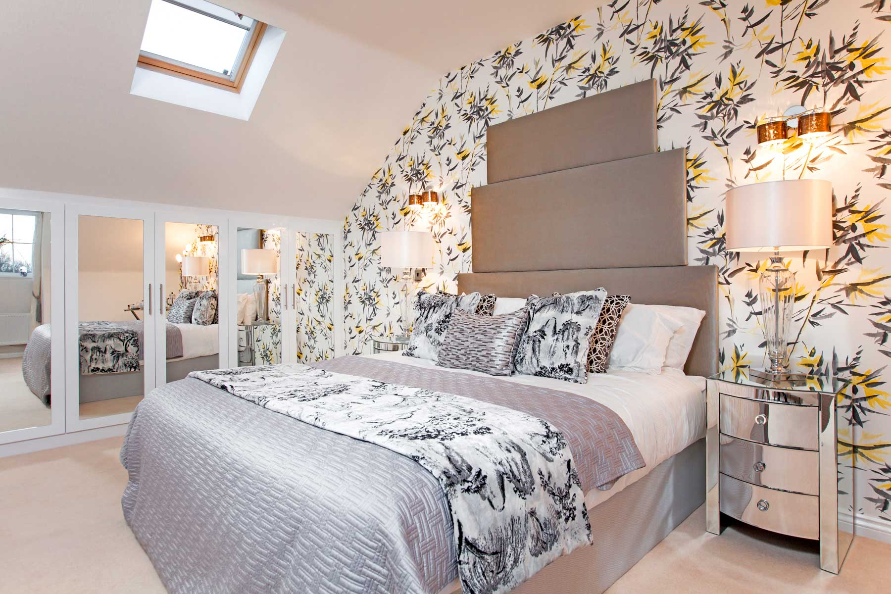 TW Exeter - Rackenford Meadow - Ashton example bedroom 2