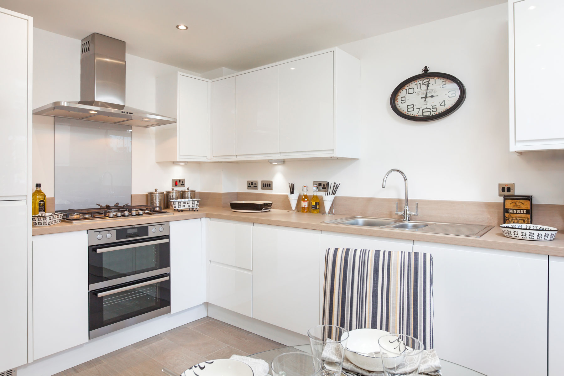 TW Exeter - Rackenford Meadow - Ashton example kitchen