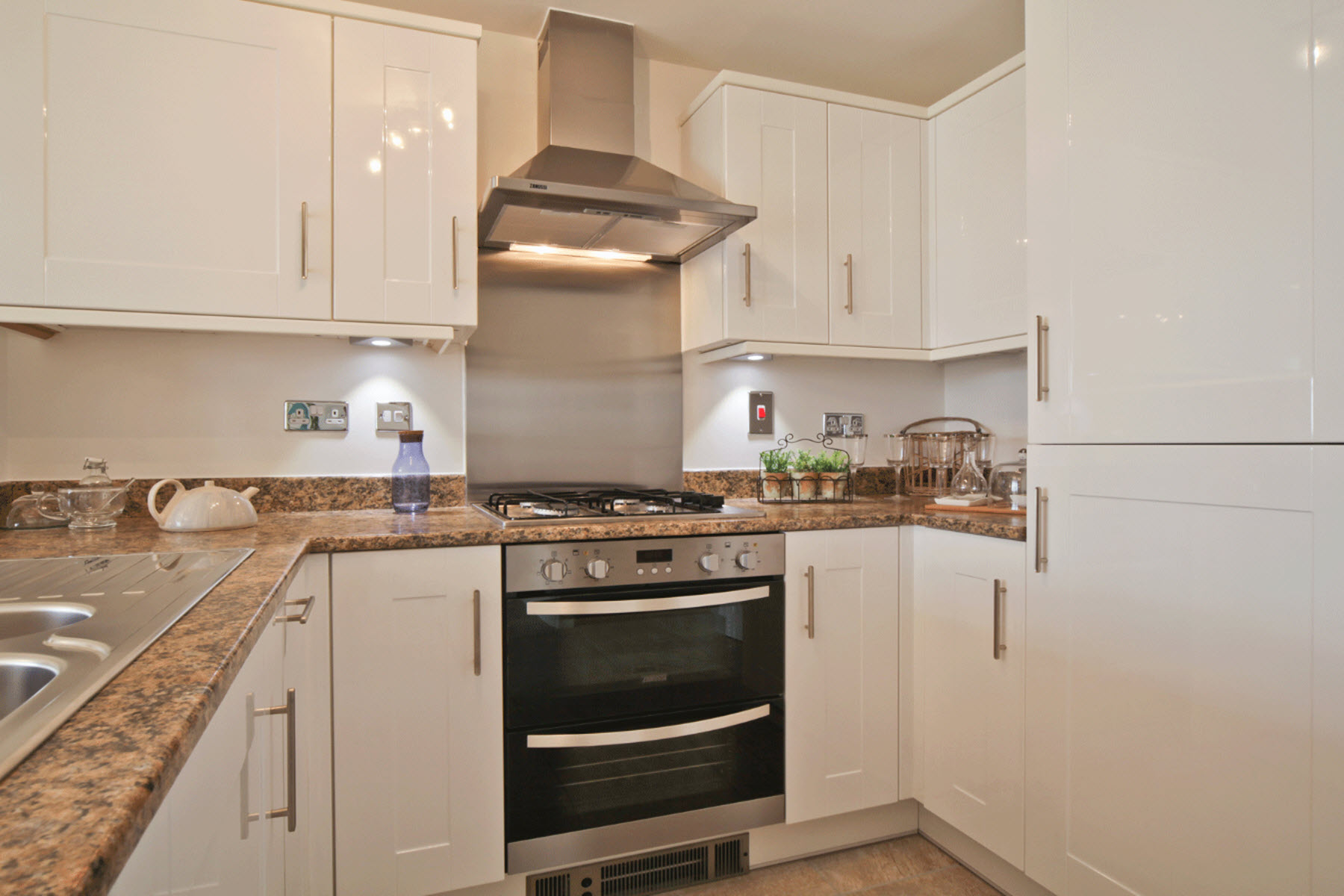 TW Exeter - Rackenford Meadow - Belford example kitchen