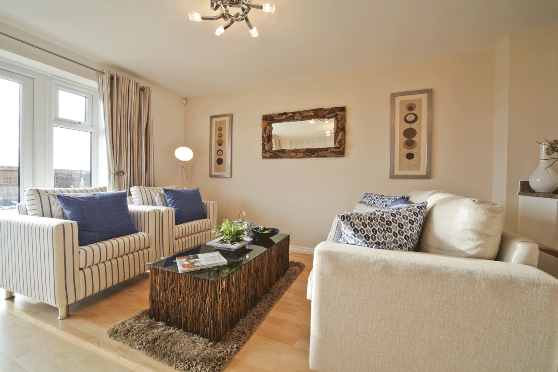 TW Exeter - Rackenford Meadow - Belford example living area 2