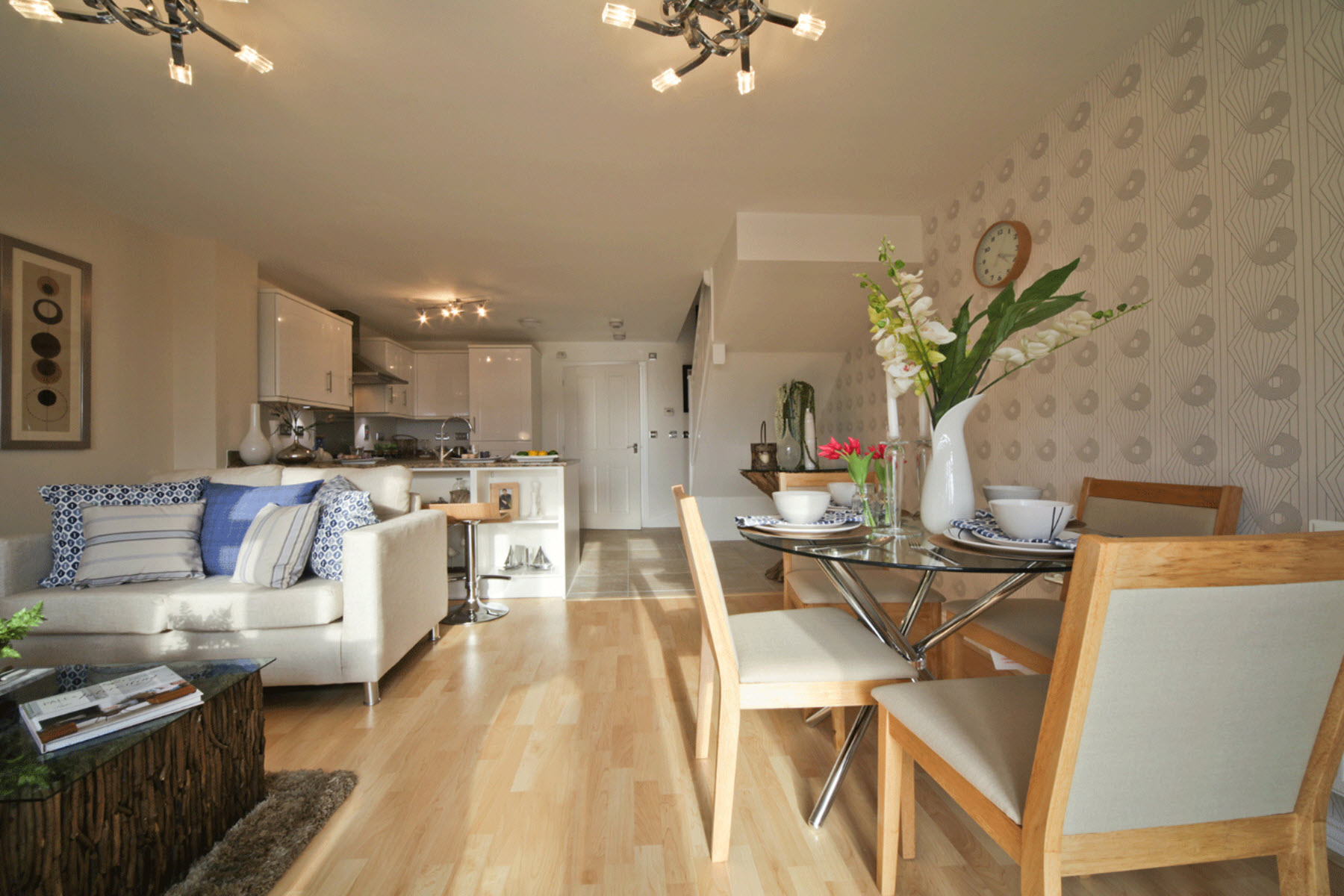 TW Exeter - Rackenford Meadow - Belford example living area 3