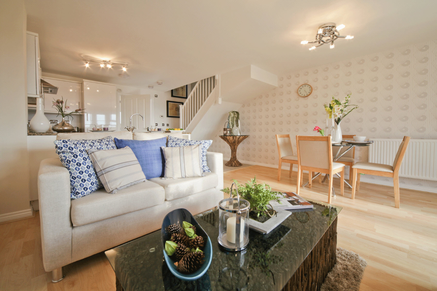 TW Exeter - Rackenford Meadow - Belford example living area