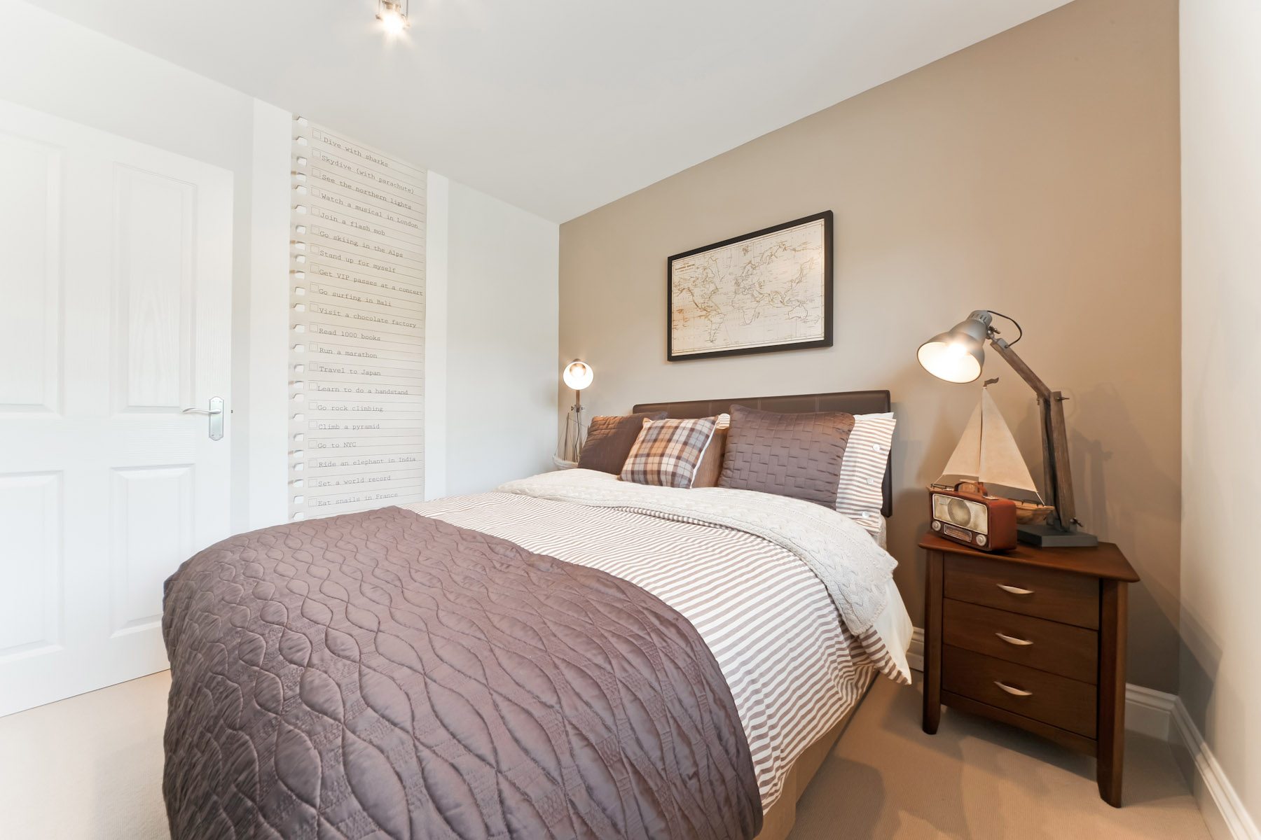 TW Exeter - Rackenford Meadow - Eskdale example bedroom 4