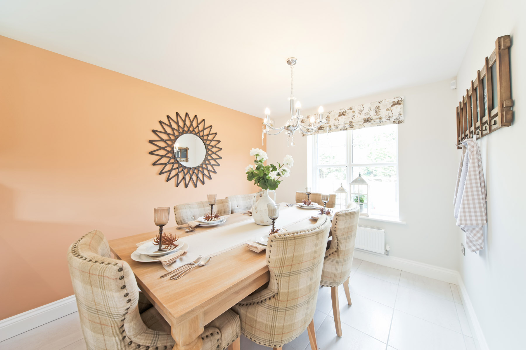 TW Exeter - Rackenford Meadow - Eskdale example dining area