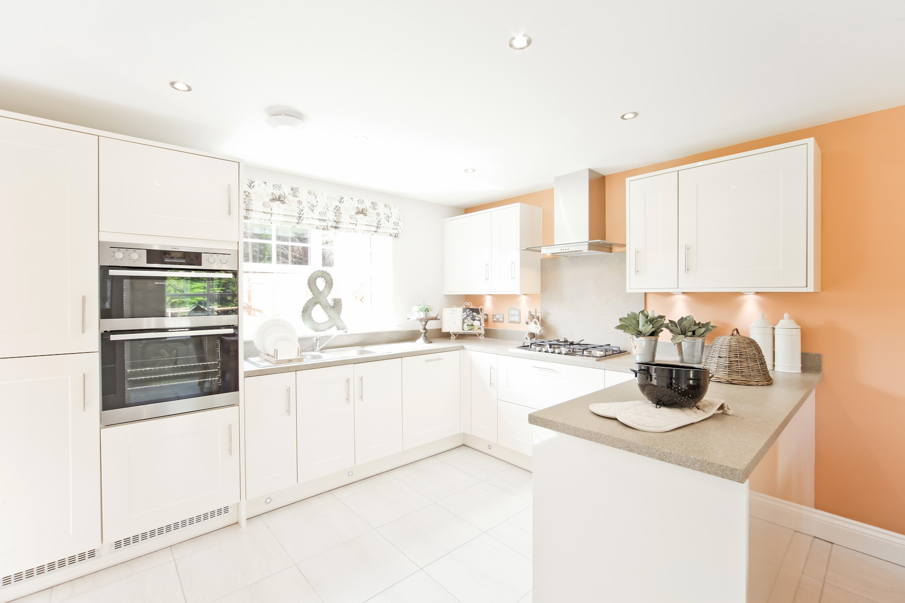 TW Exeter - Rackenford Meadow - Eskdale example kitchen