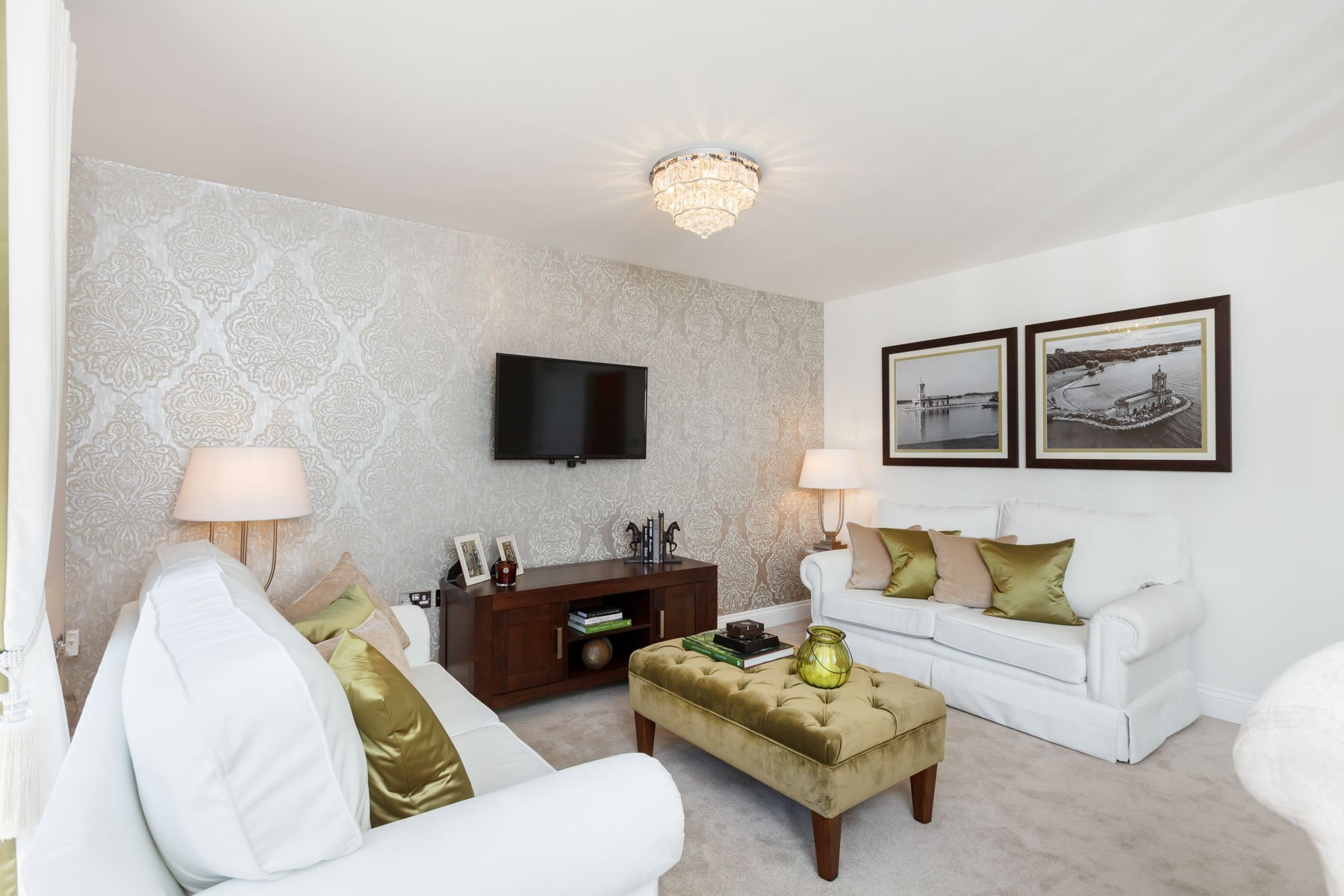 TW Exeter - Rackenford Meadow - Farleigh example living room 2