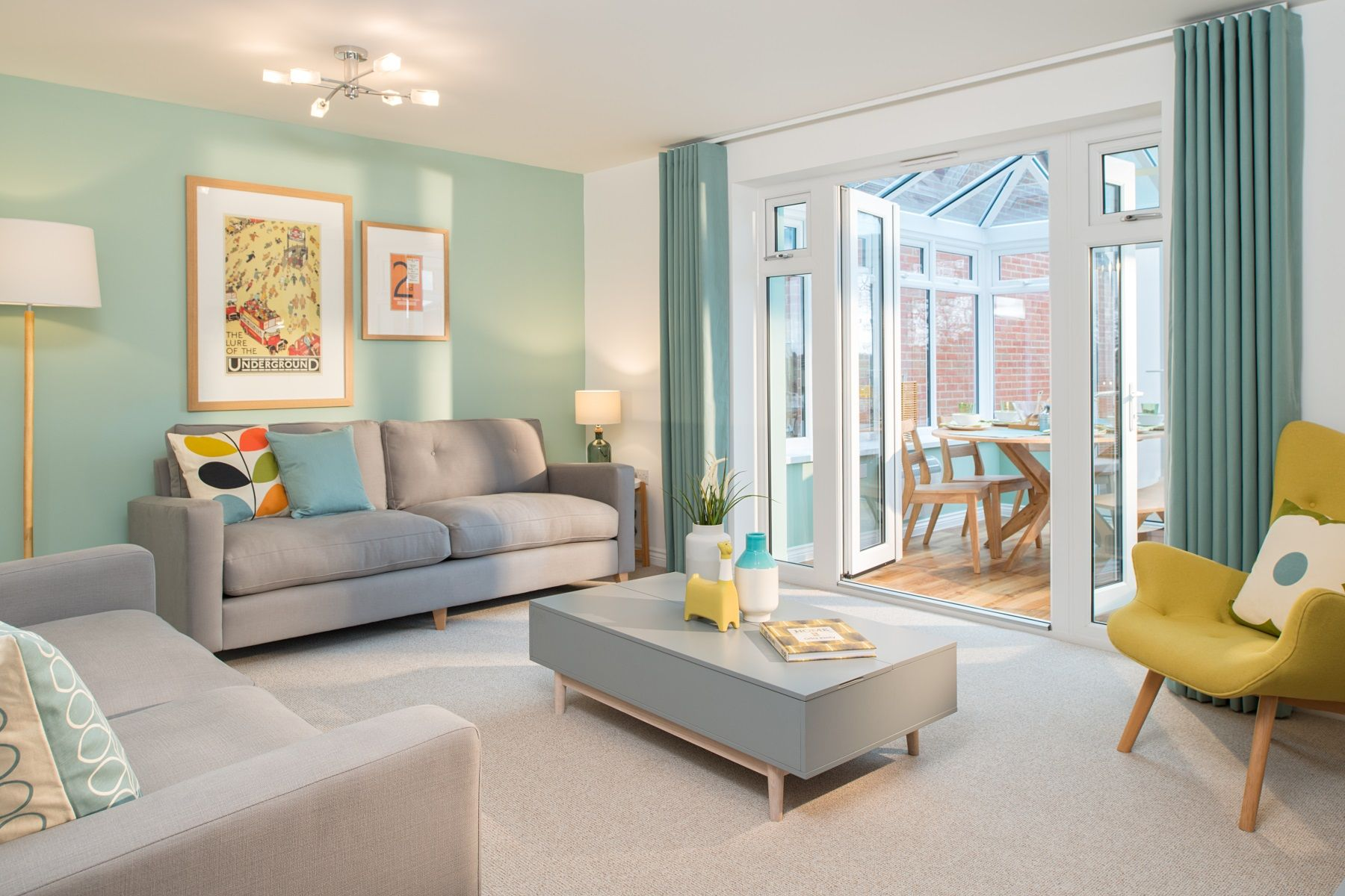 Rackenford Meadow Flatford example living room