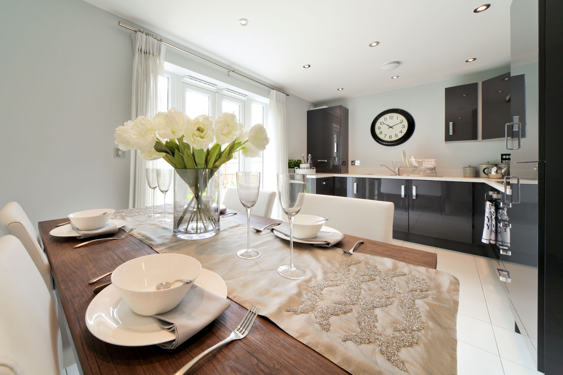 Rackenford Meadow Gosford example dining area