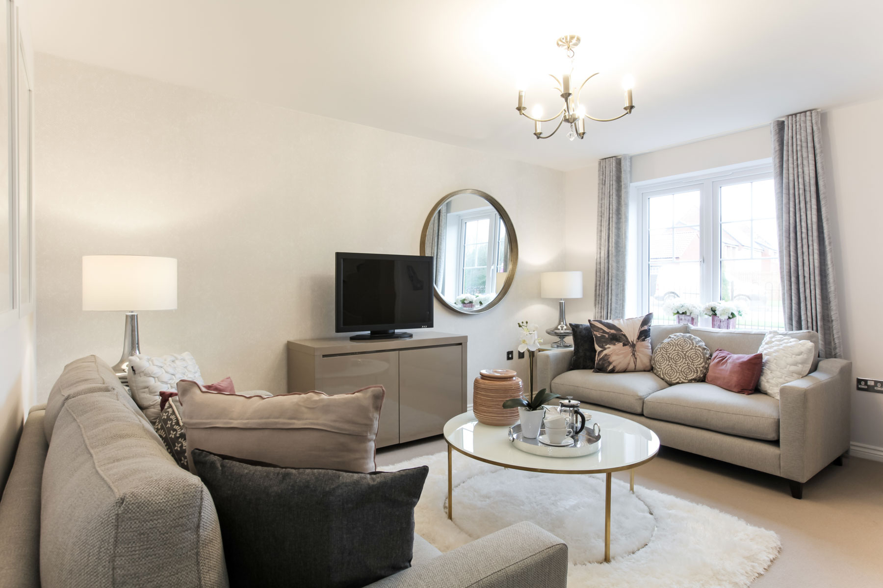Rackenford Meadow Gosford example living room