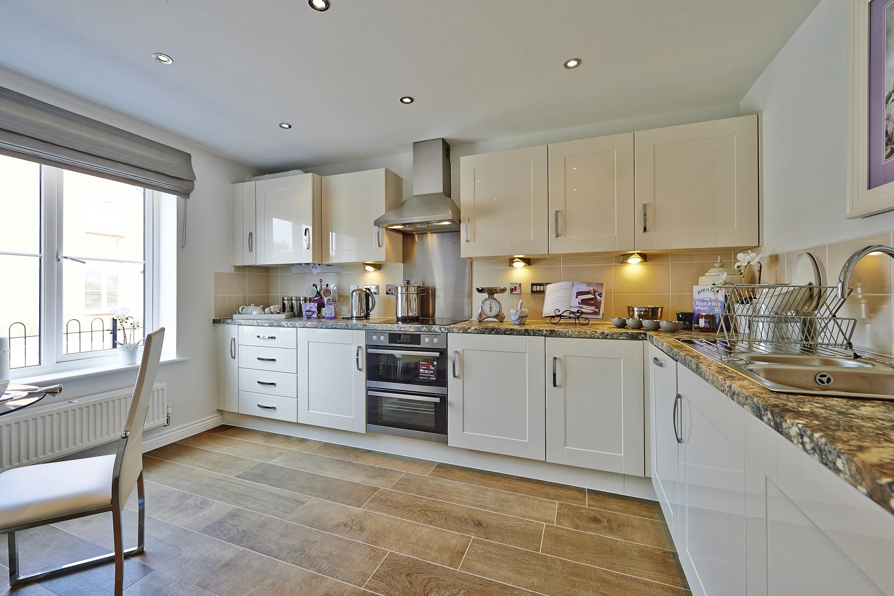 Rackenford Meadow Kempsford example kitchen