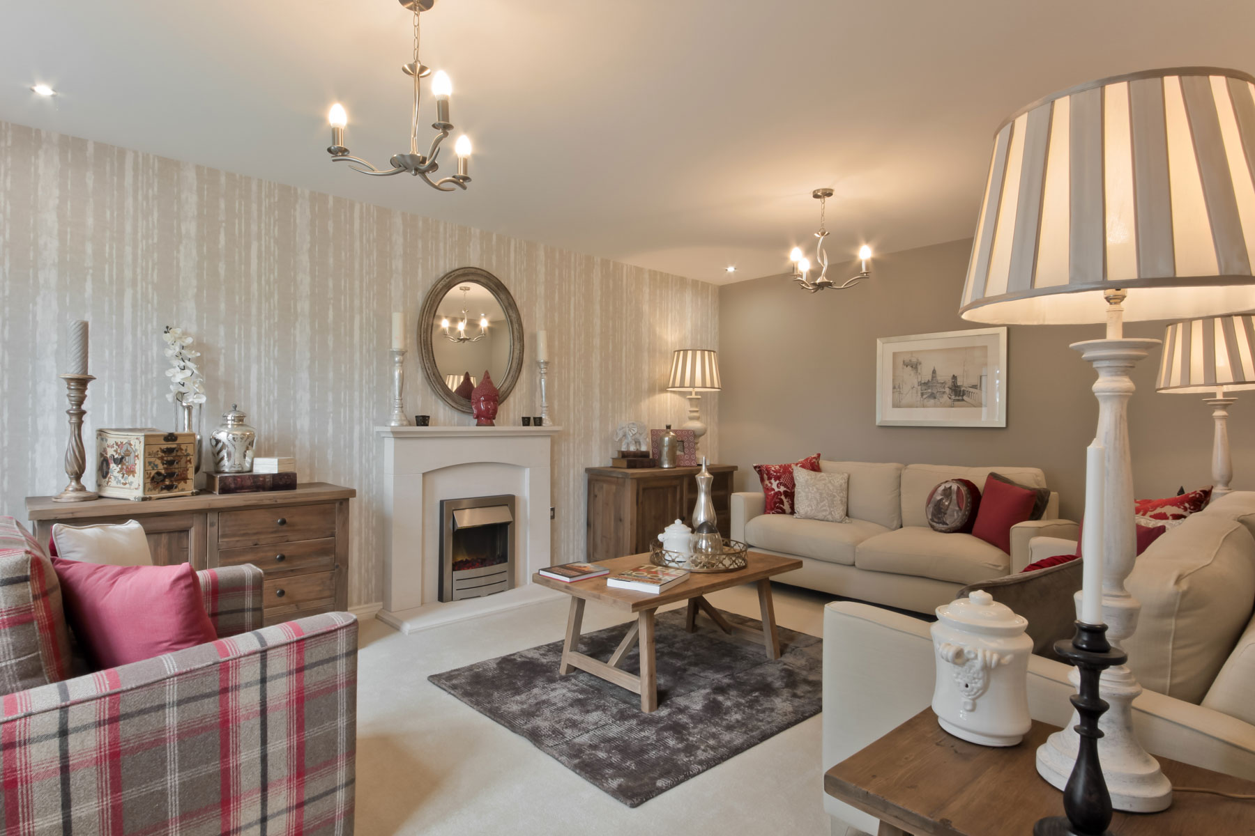 Rackenford Meadow Kennilworth example living room