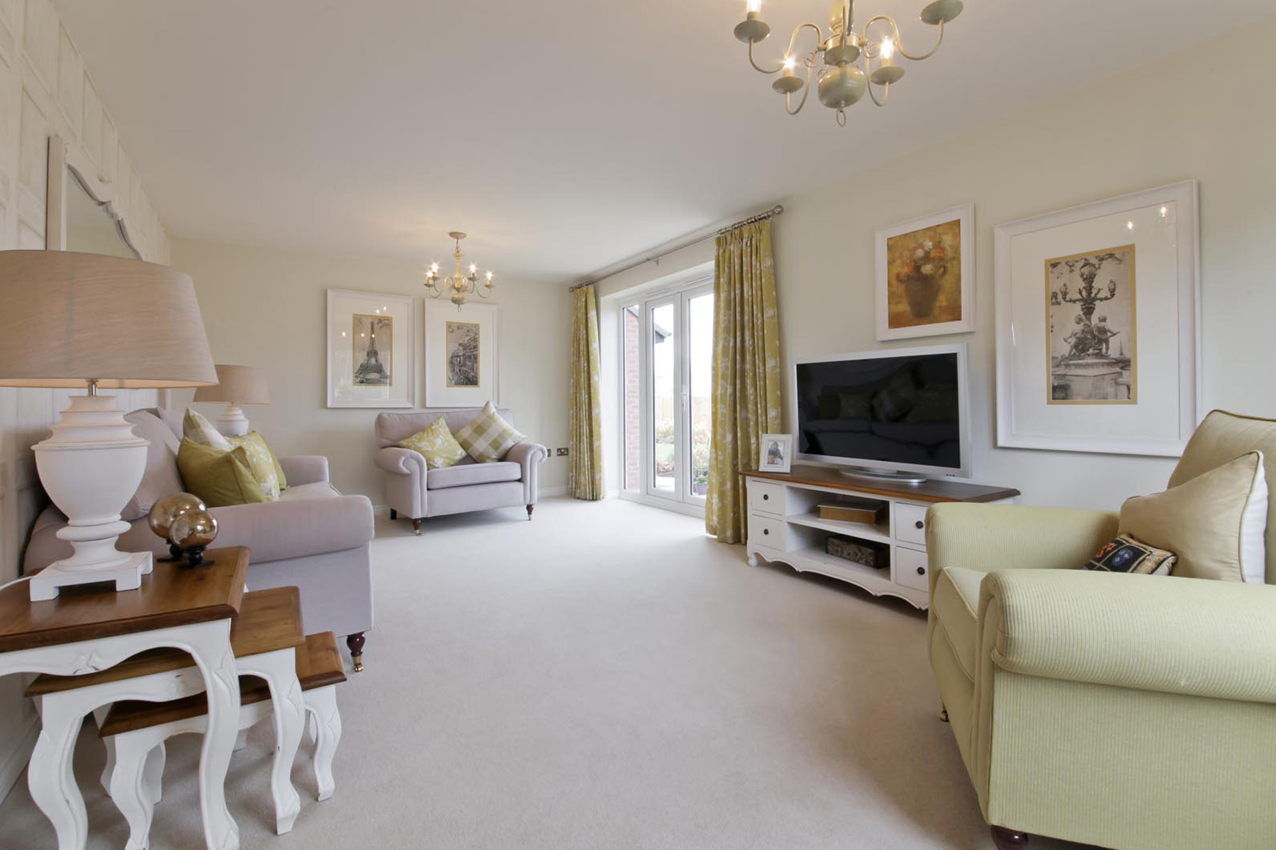 Rackenford Meadow Kentdale example living room