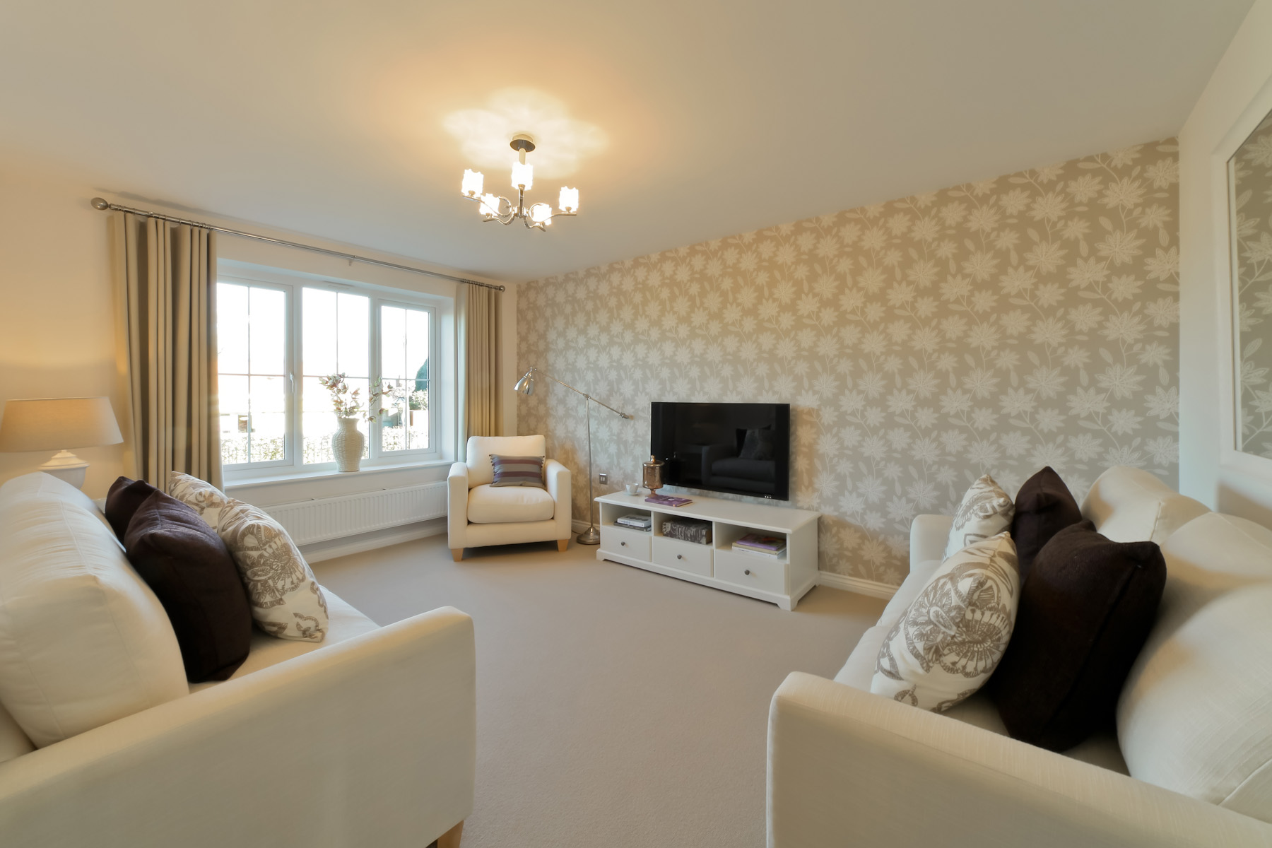 TW Exeter - Rackenford Meadow - Lydford example living room
