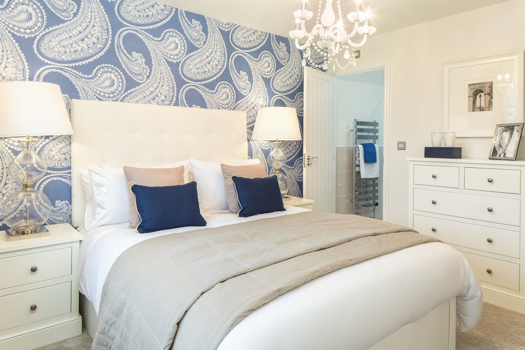 Rackenford Meadow Midford example bedroom