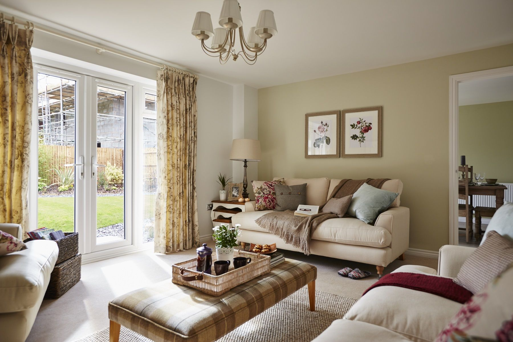 TW Exeter - Rackenford Meadow - Thornford example living room 2