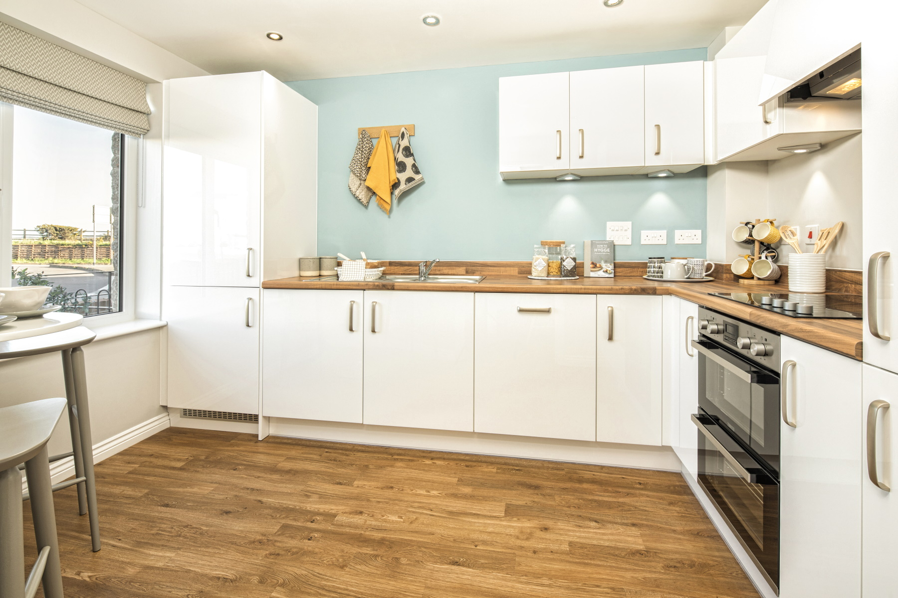 TW Exeter - Sherford - Laurel example kitchen