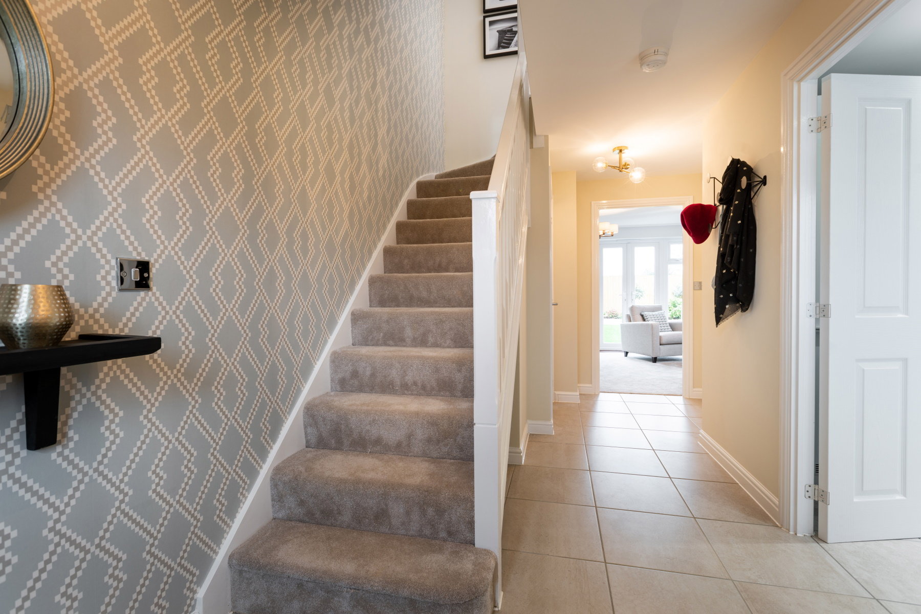 TW Exeter - Sherford - Laurel example hallway
