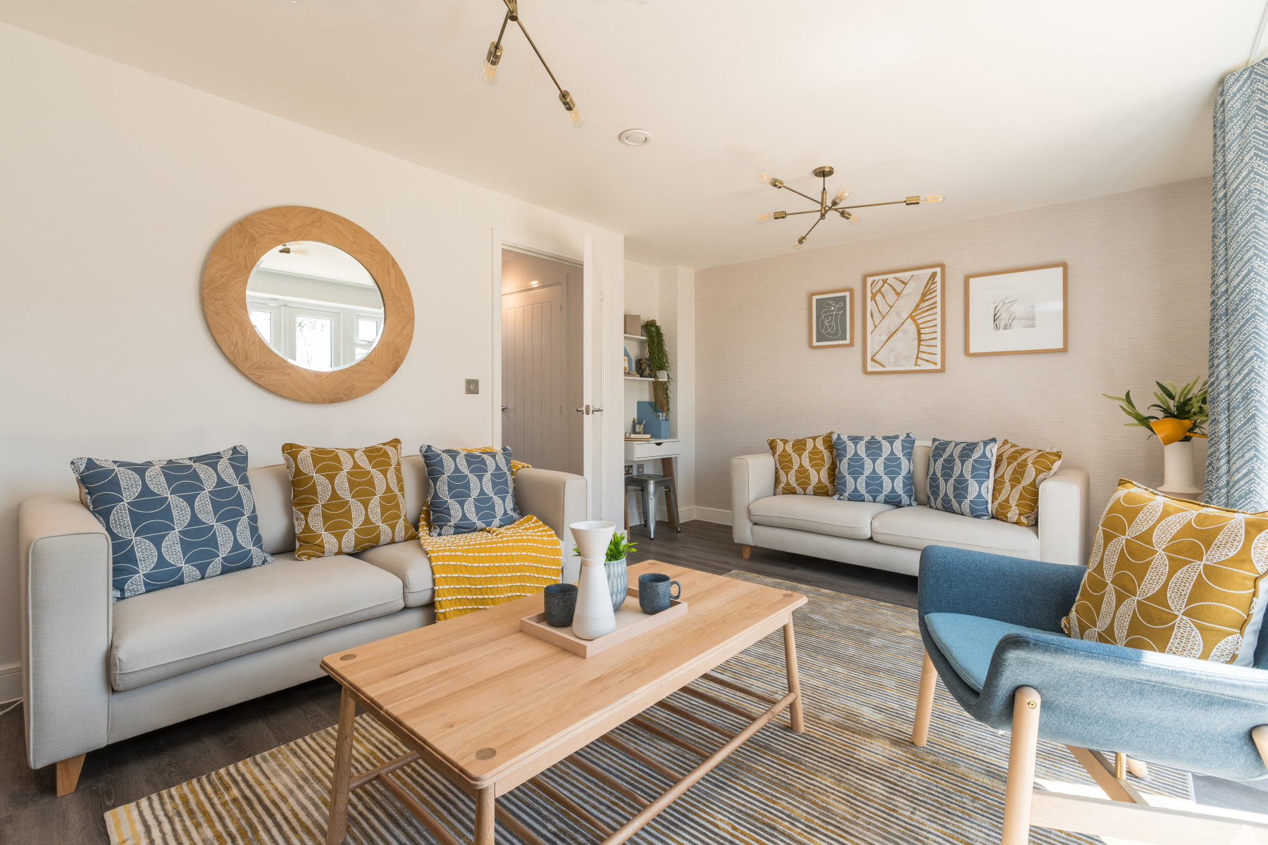 TW Exeter - Sherford - Laurel example living room 2