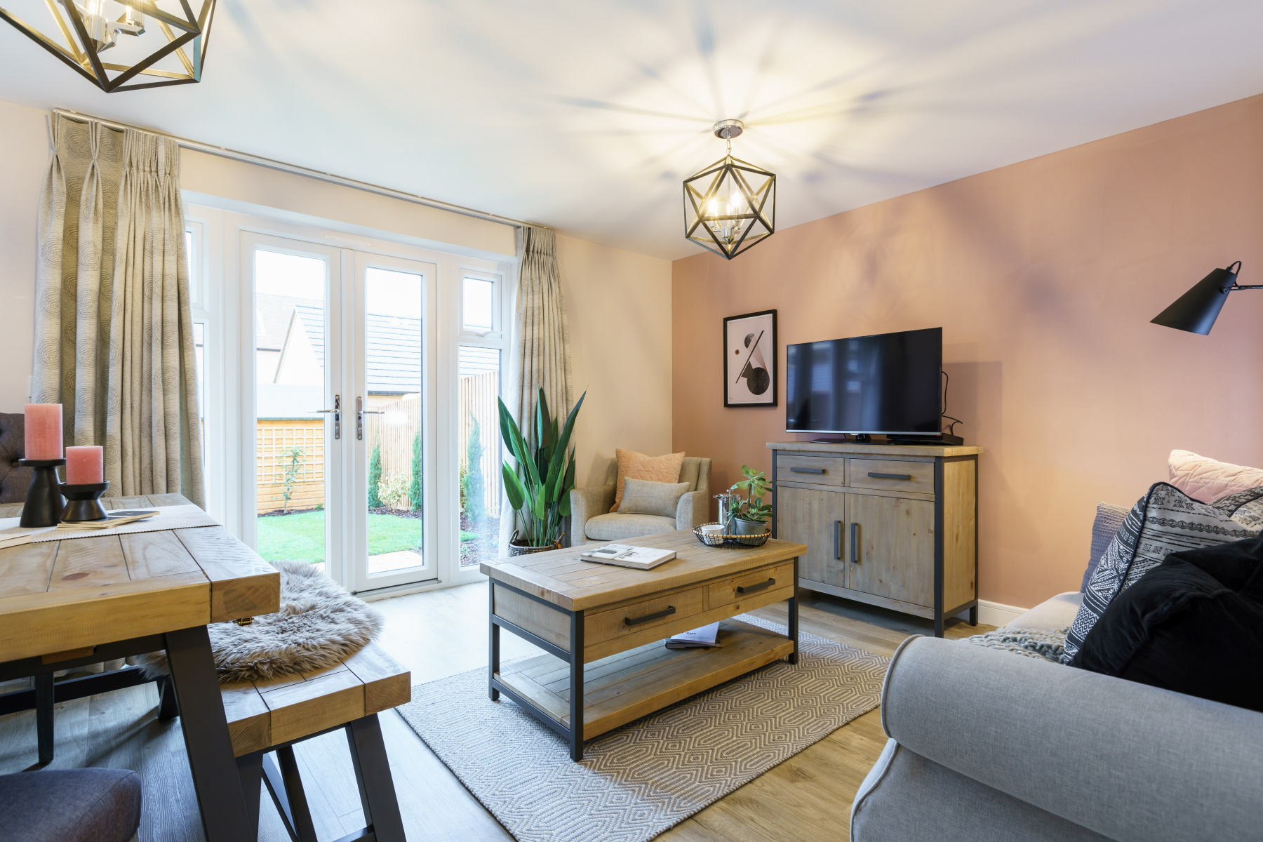 TW Exeter - Sherford - Laurel example living room
