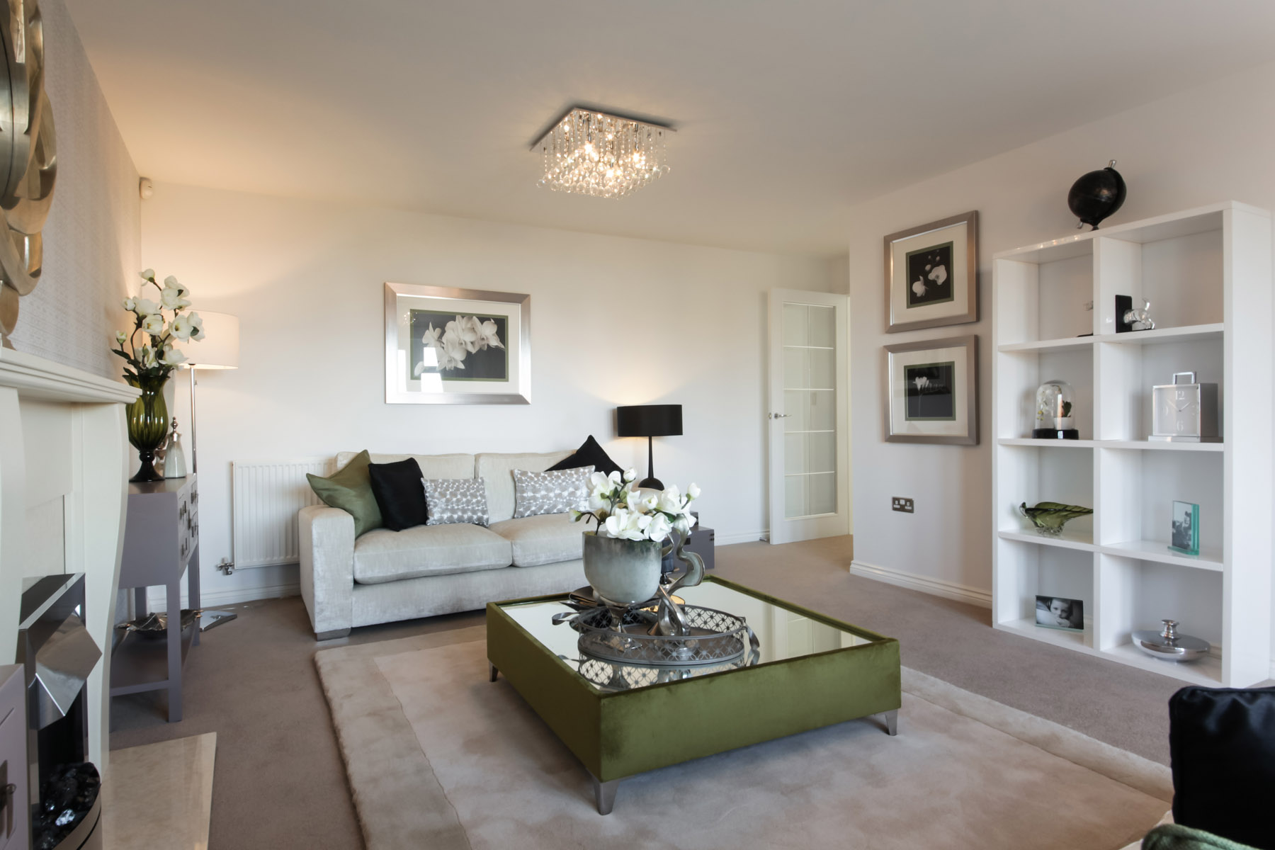 TW Exeter - Sherford - Alder example living room 2