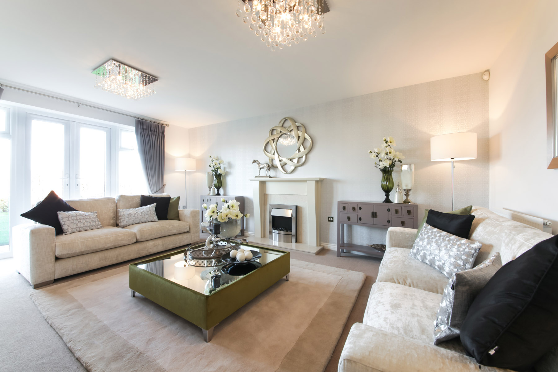 TW Exeter - Sherford - Alder example living room