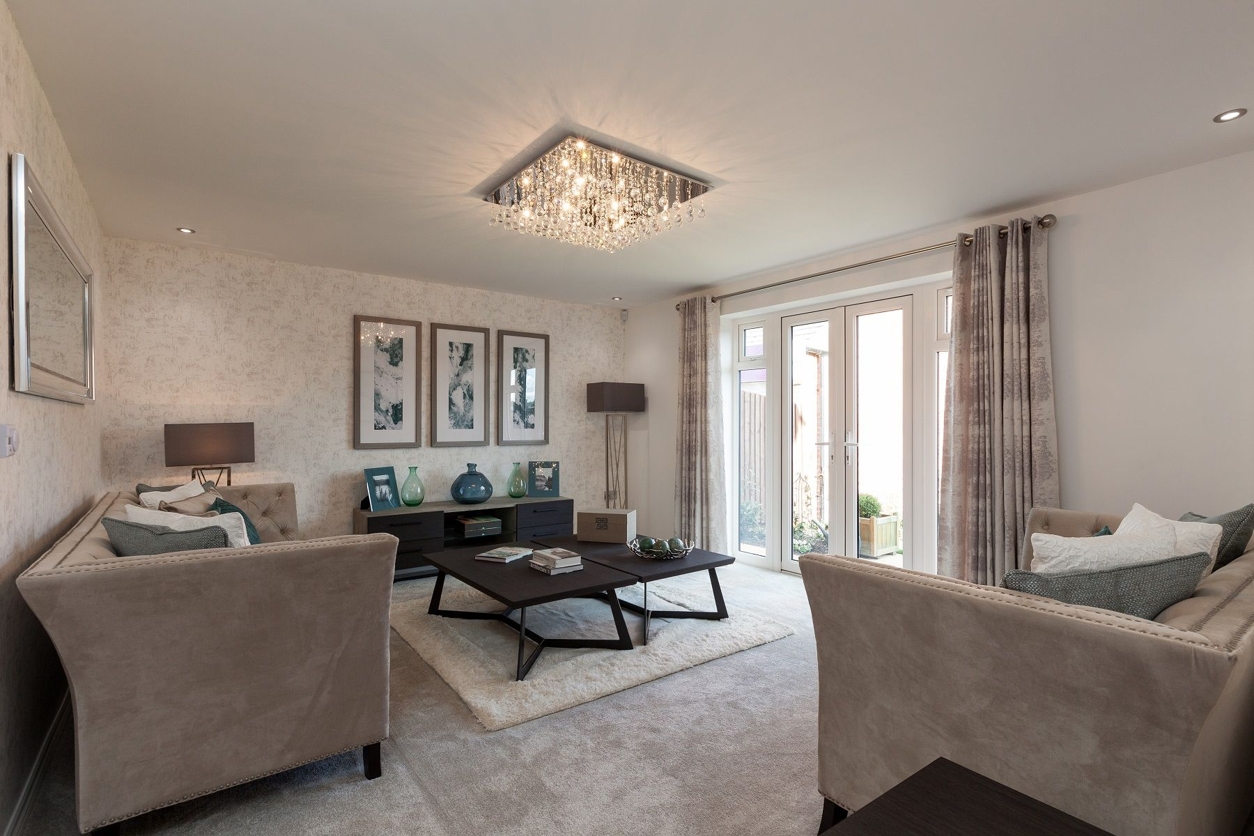 TW Exeter - Sherford - Ash example living room