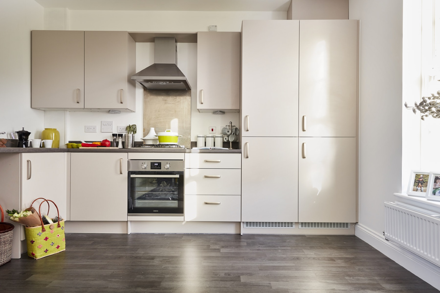 TW Exeter - Sherford - The Aspen example kitchen