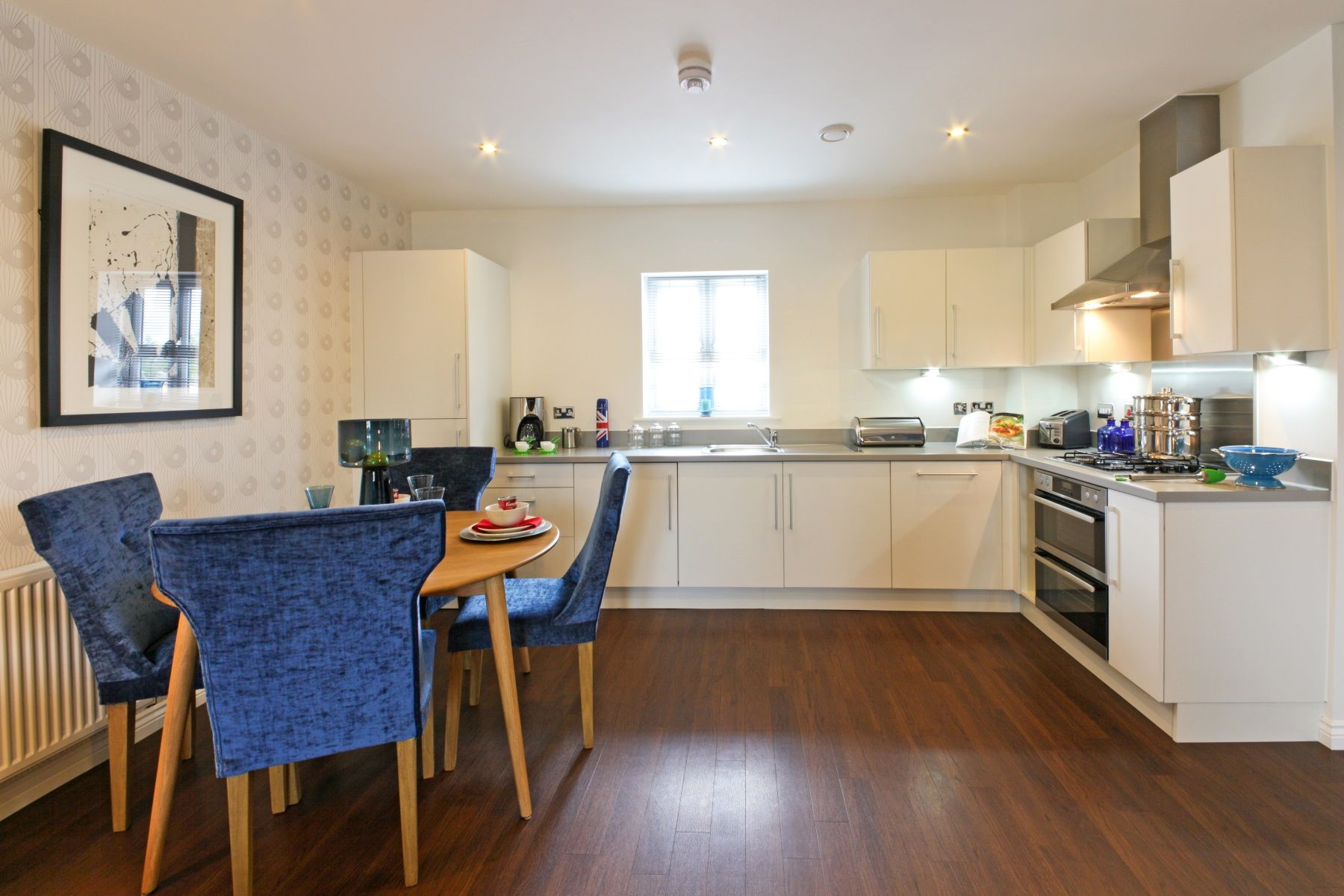 TW Exeter - Sherford - Aspen example dining area