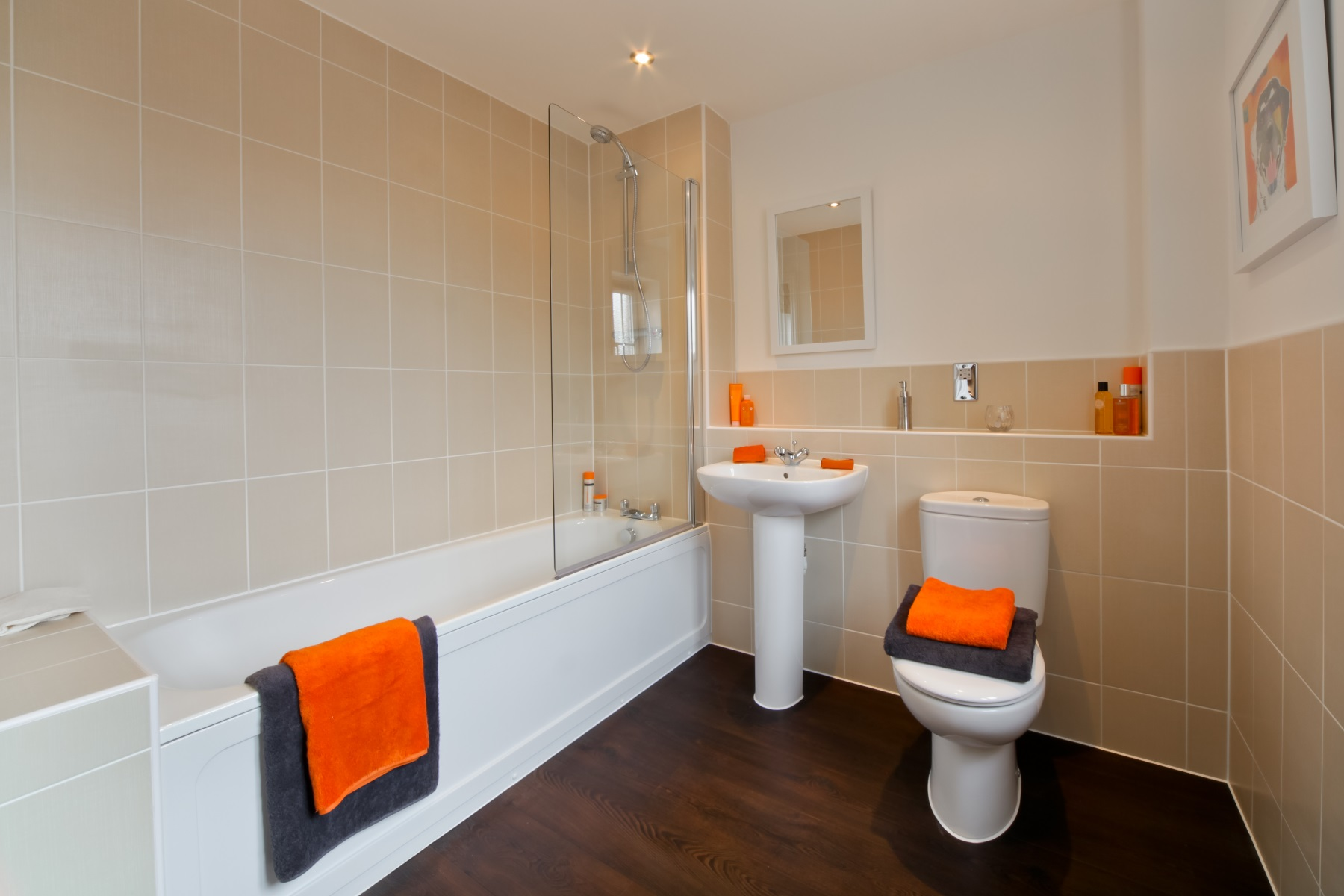 TW Exeter - Sherford - Aspen example bathroom