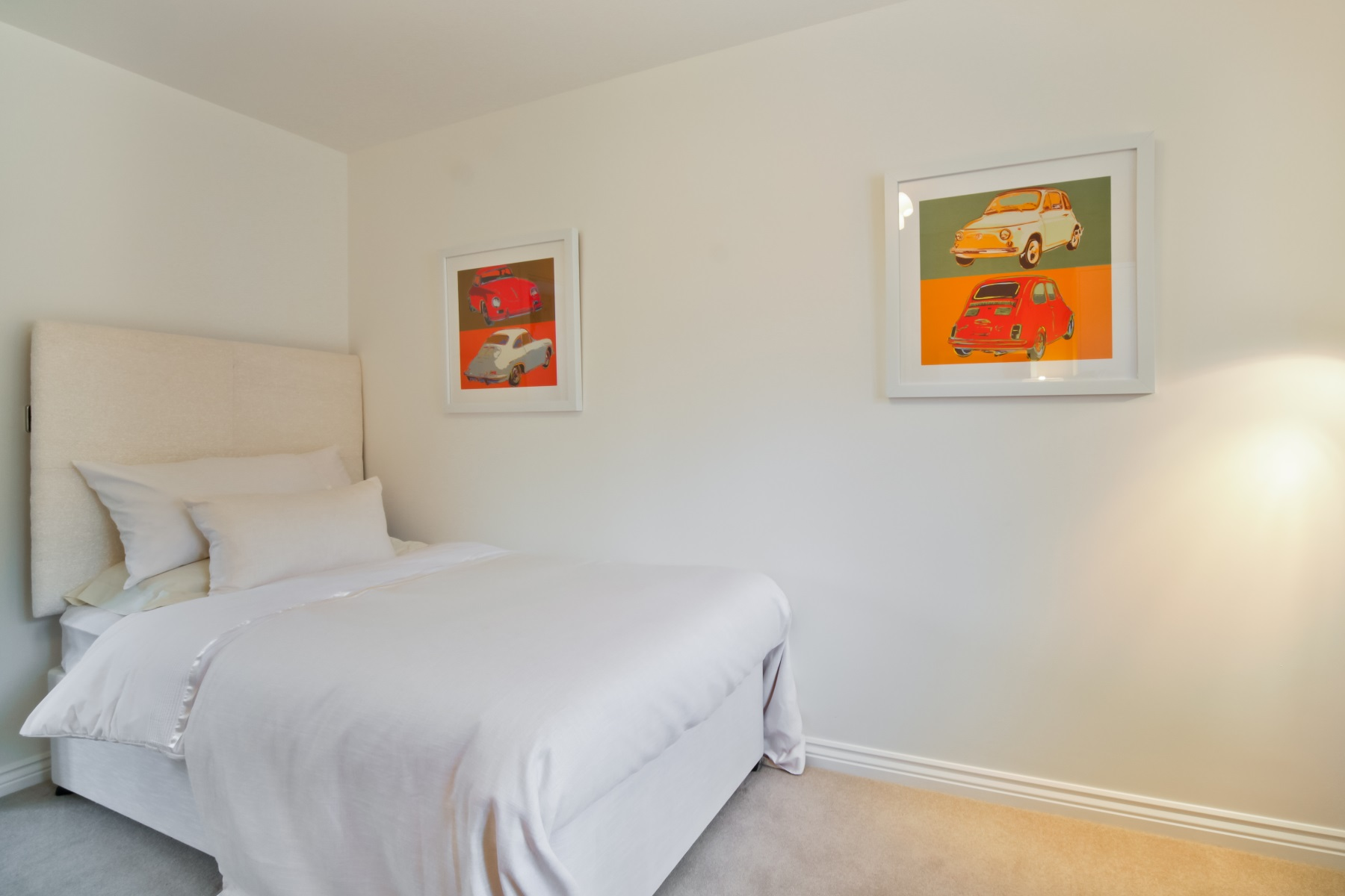 TW Exeter - Sherford - Aspen example bedroom 3