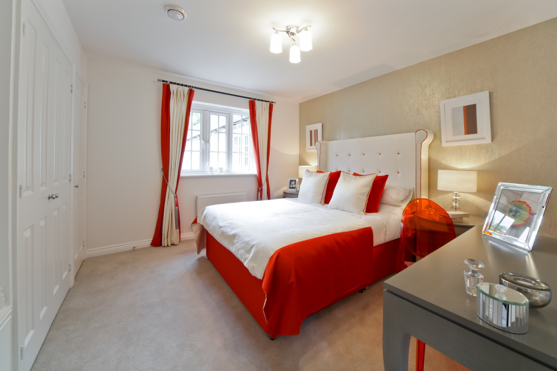 TW Exeter - Sherford - Aspen example bedroom