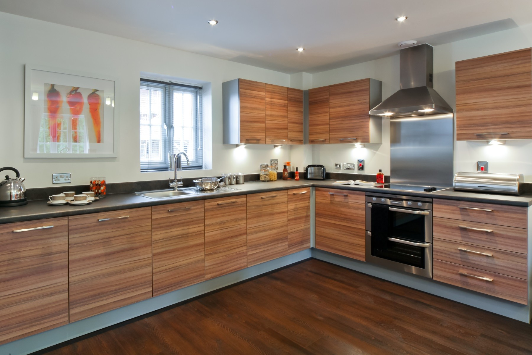 TW Exeter - Sherford - Aspen example kitchen