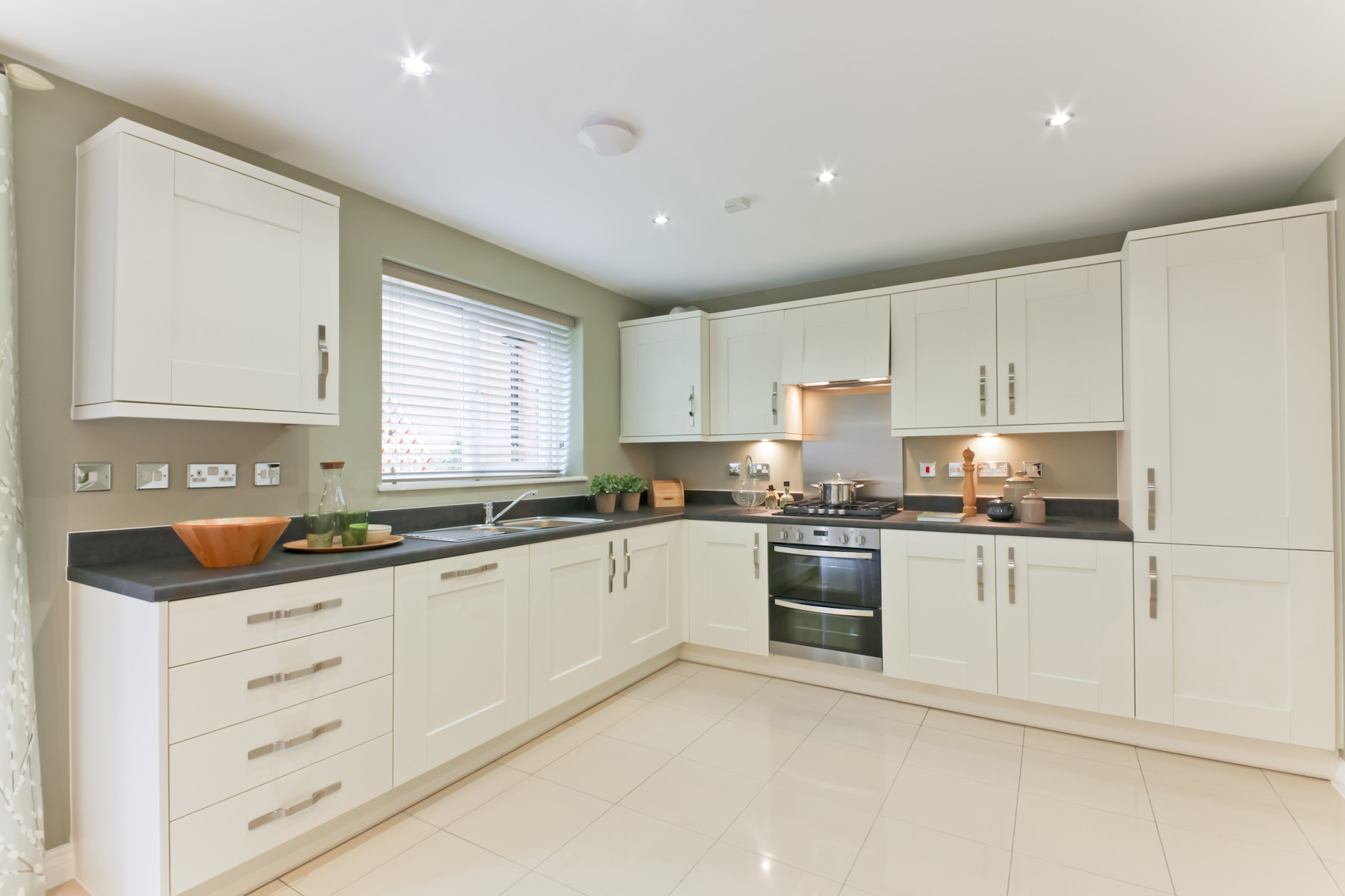 TW Exeter - Sherford - The Birch example kitchen