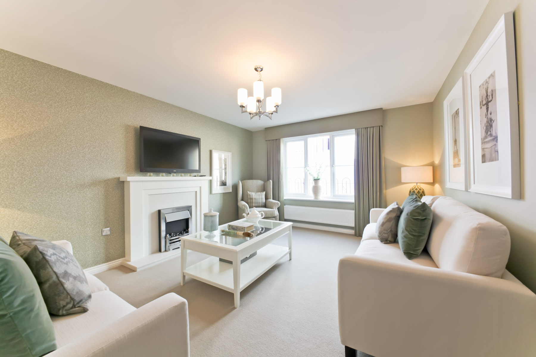 TW Exeter - Sherford - The Birch example living room