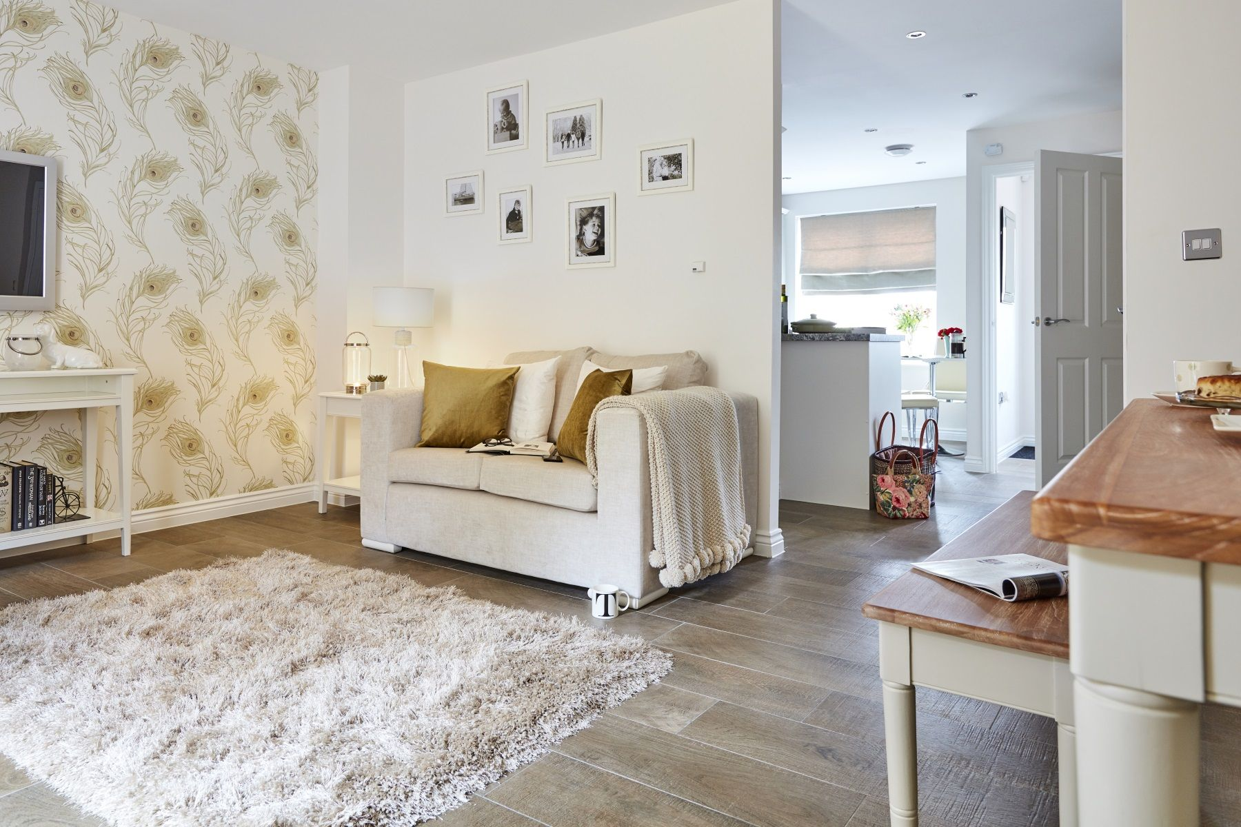 TW Exeter - Sherford - The Charlbury example living room 2
