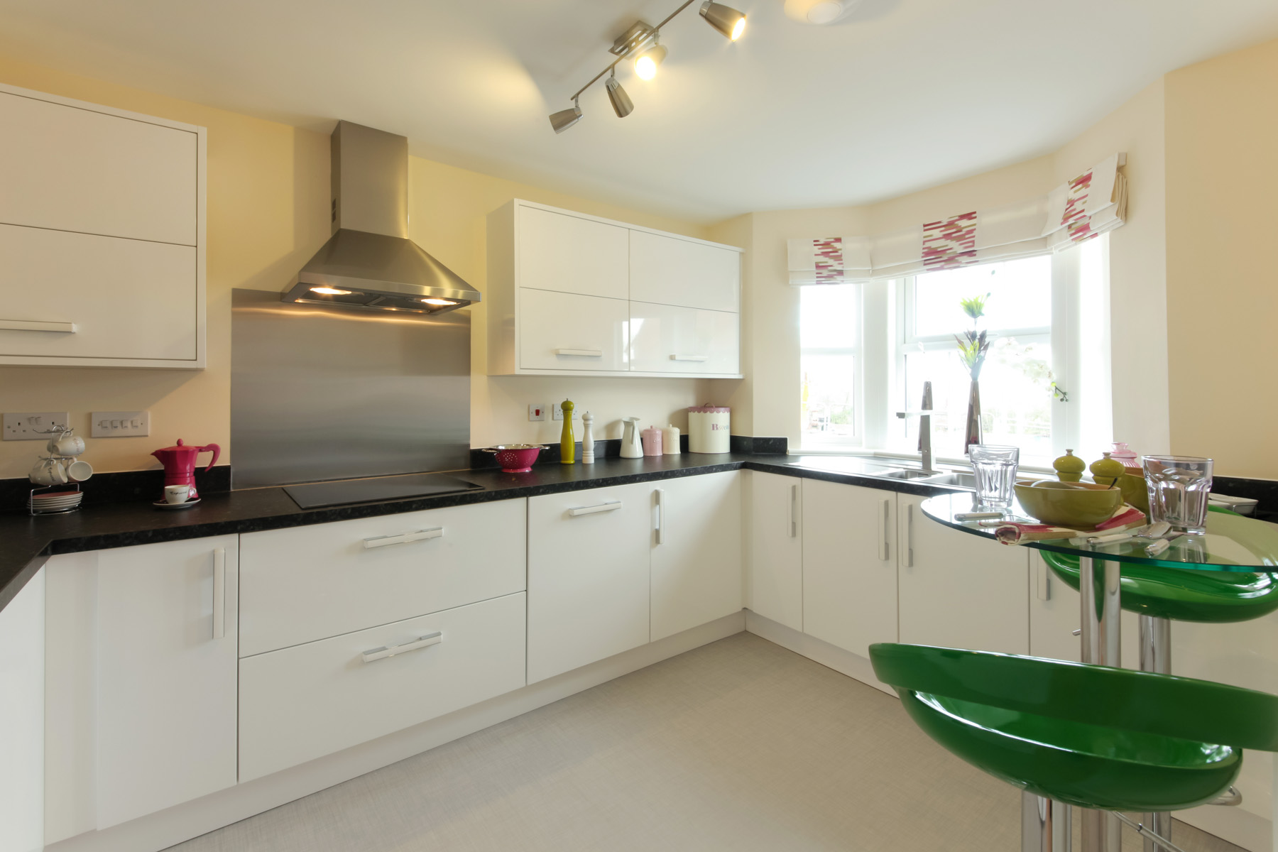 TW Exeter - Sherford - The Charlbury example kitchen