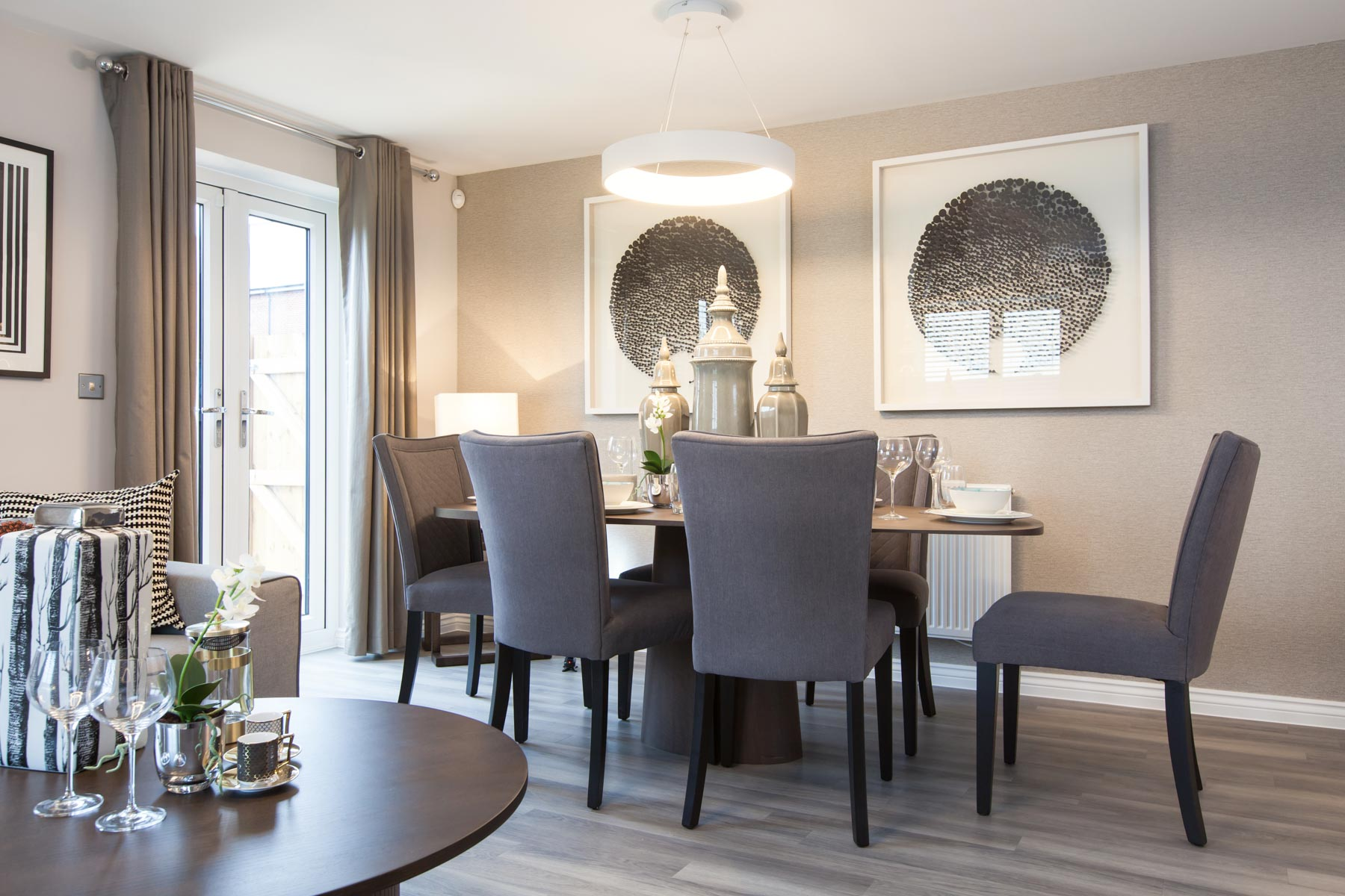 TW Exeter - Sherford - The Danbury example living room