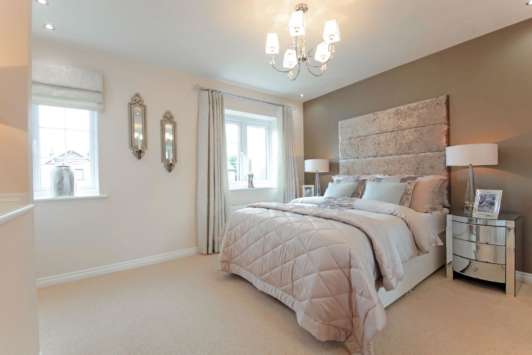 TW Exeter - Sherford - Elm example bedroom
