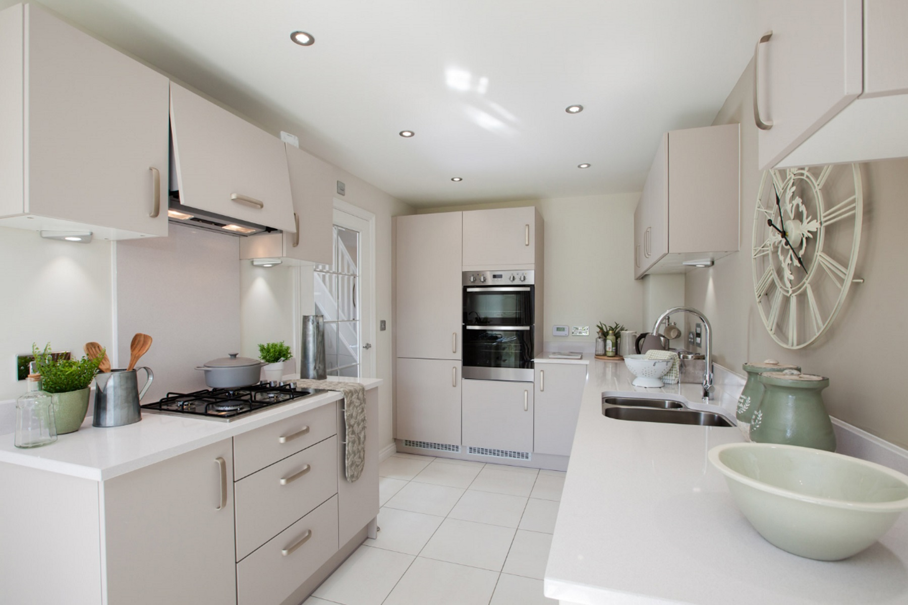 TW Exeter - Sherford - Elm example kitchen