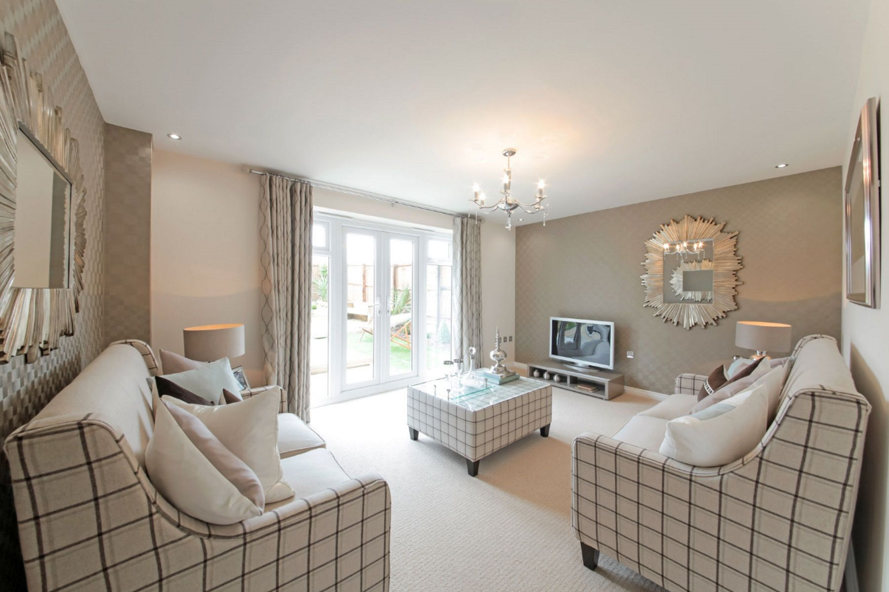 TW Exeter - Sherford - Elm example living room