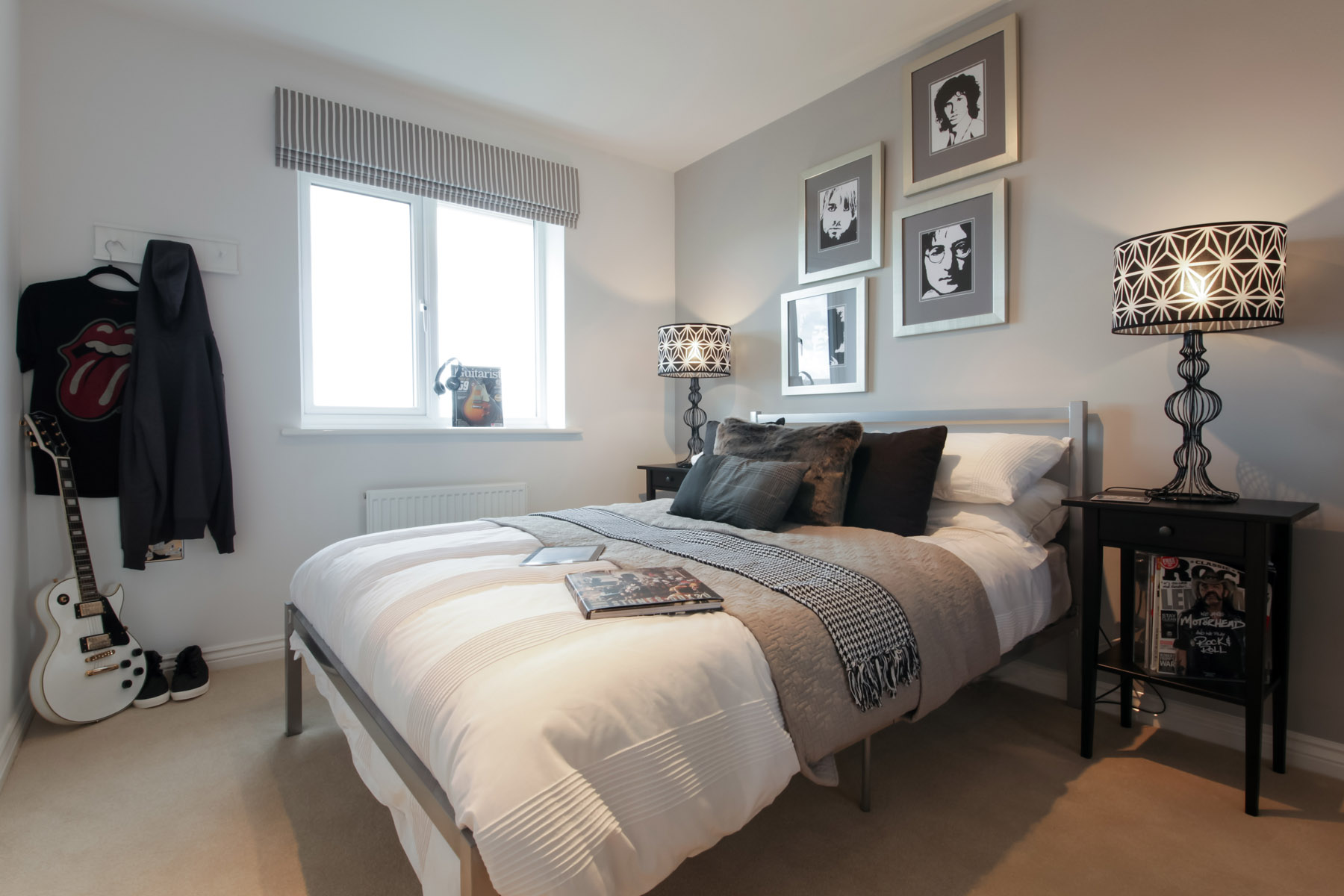 TW Exeter - Sherford - Elm example bedroom 4
