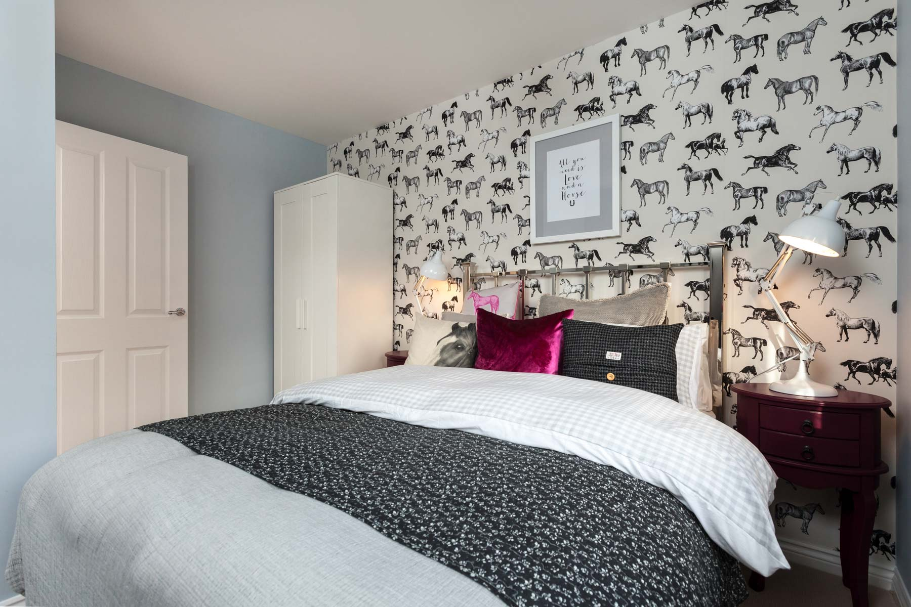 TW Exeter - Sherford - The Fir example bedroom 3